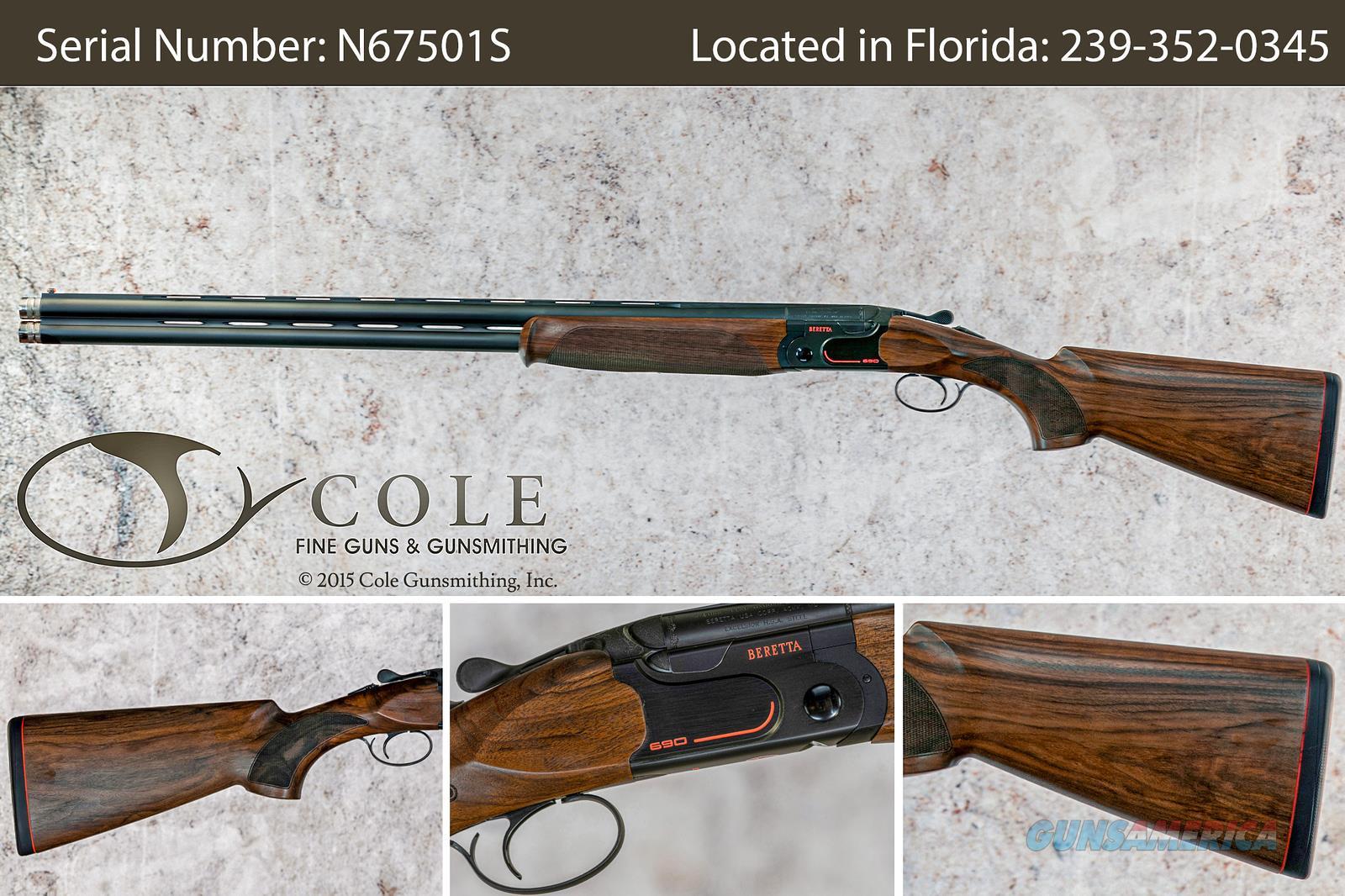 "Beretta 690 Sporting 12g 30"" 690 Sporting 12gaSN# N67501S  Guns > Shotguns > Beretta Shotguns > O/U > Trap/Skeet"