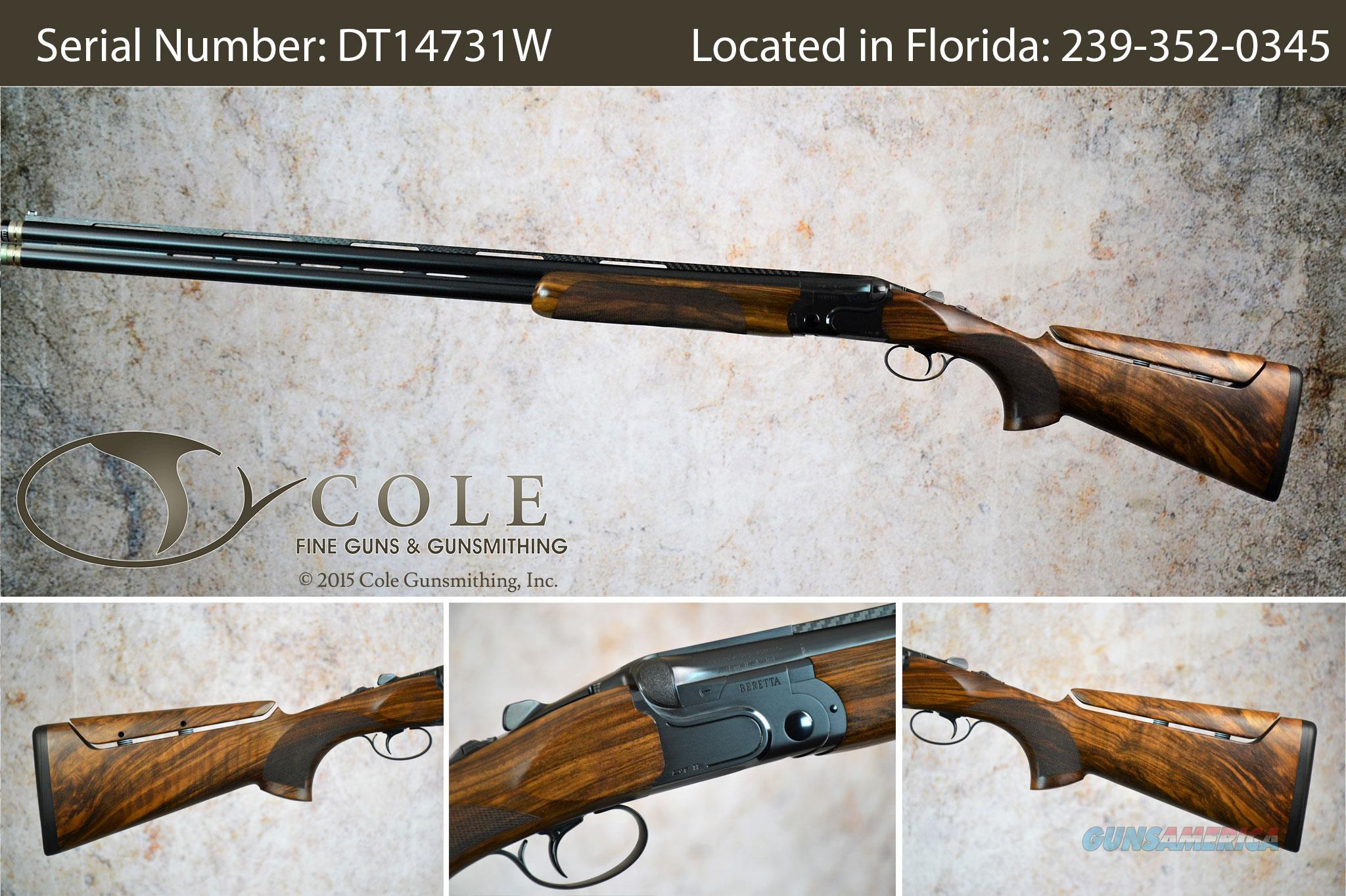 "Beretta DT11 Sporting 12g 32"" Black Edition W/B-Fast SN:  Guns > Shotguns > Beretta Shotguns > O/U > Trap/Skeet"