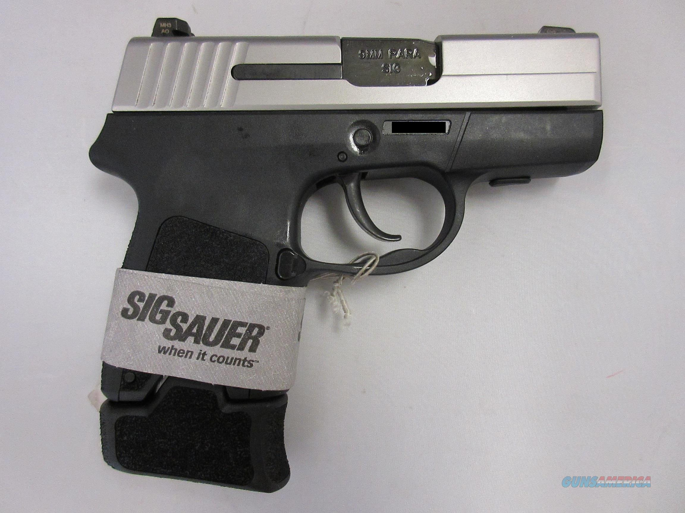 SIG SAUER P290  2TONE 9mm WITH N/S  Guns > Pistols > Sig - Sauer/Sigarms Pistols > P290