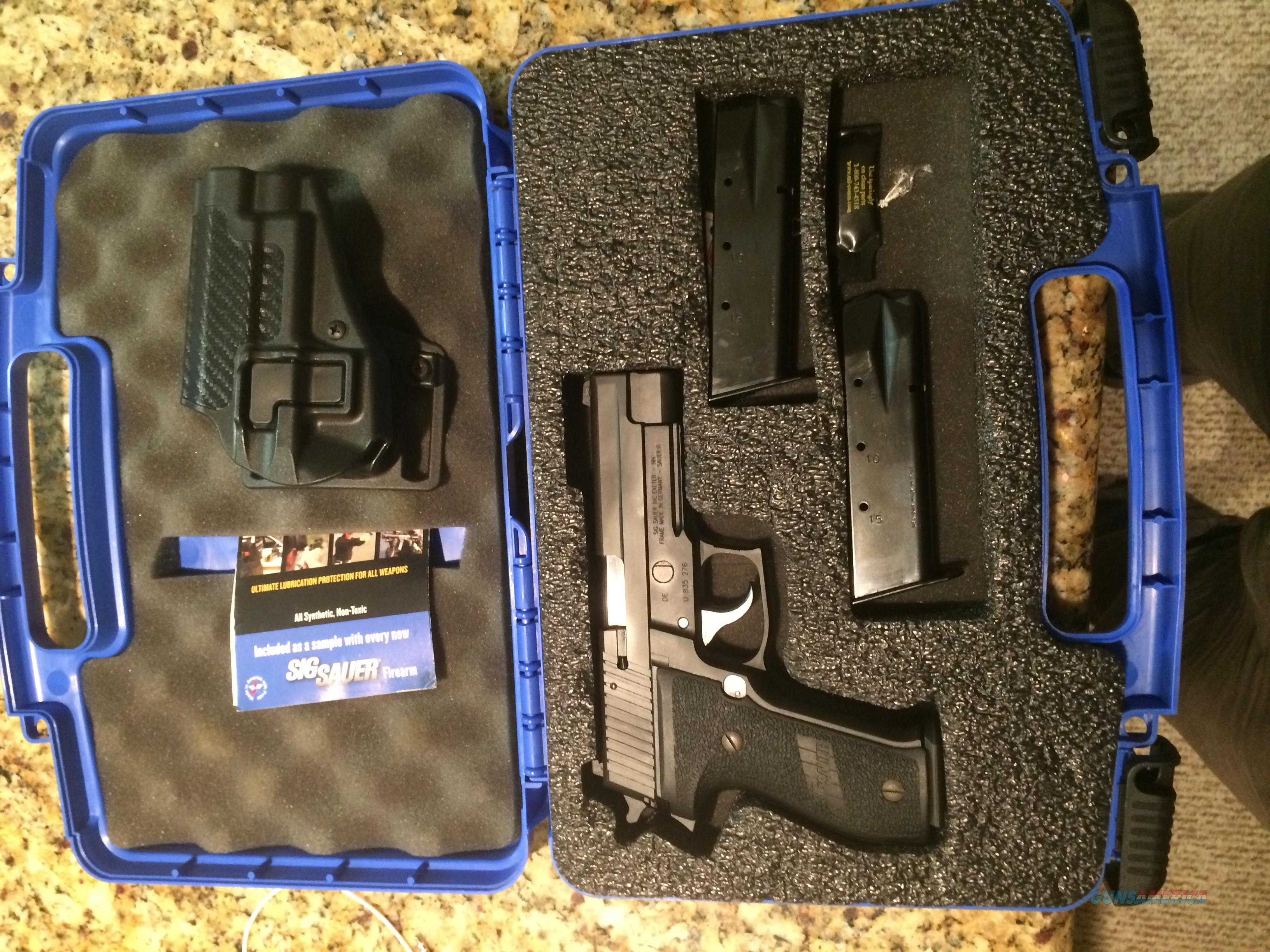 Sig P226R with Nitron slide and Night Sights  Guns > Pistols > Sig - Sauer/Sigarms Pistols > P226