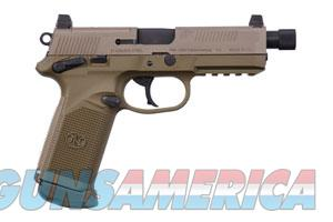 FNH-USA FNX 45 Tactical FDE Threaded Barrel 45ACP 15+1!  Guns > Pistols > FNH - Fabrique Nationale (FN) Pistols > FNX