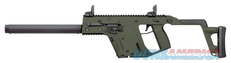 "Kriss Vector CRB Carbine Gen2 .45ACP 16"" OD Green 13+1!  Guns > Rifles > Kriss Tactical Rifles"