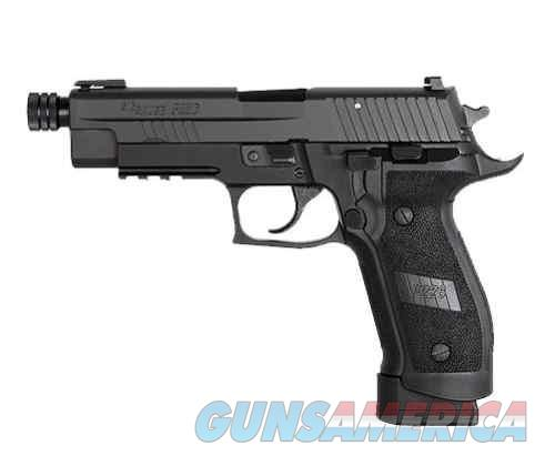 "Sig Sauer P226 TACOPS 5"" Threaded barrel 9MM 20+1 w/ 4 mags!  Guns > Pistols > Sig - Sauer/Sigarms Pistols > P226"