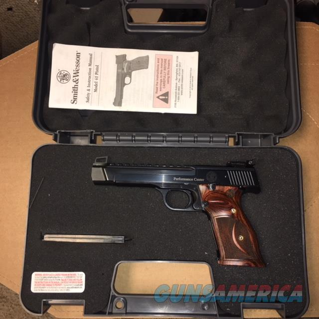 Smith and Wesson Model 41 Performance Center 22lr  Guns > Pistols > Smith & Wesson Pistols - Autos > .22 Autos