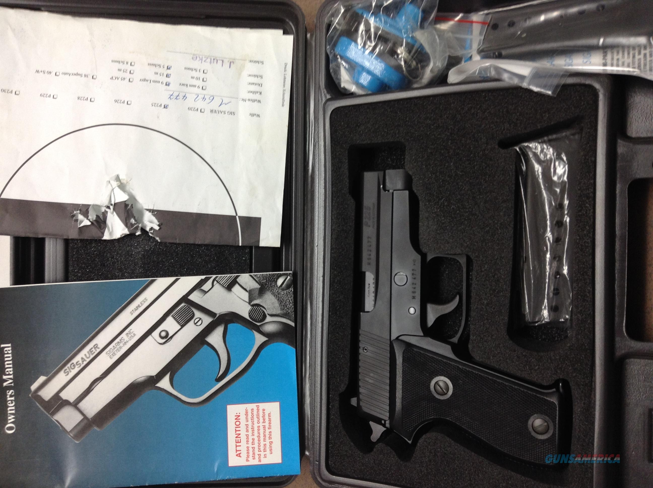 Sig Sauer P225 9mm   Guns > Pistols > Sig - Sauer/Sigarms Pistols > Other