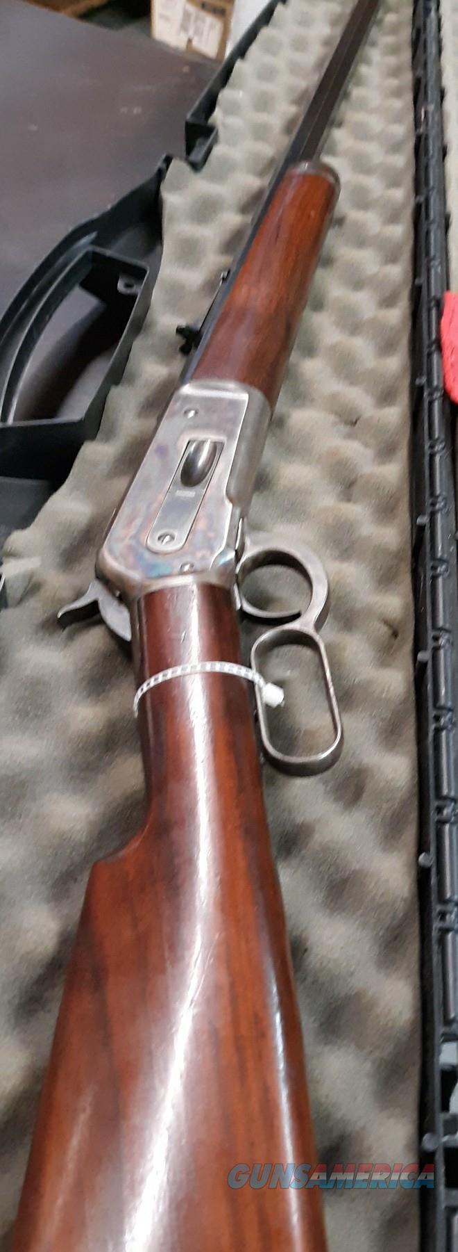 Antique Winchester Model 1886 lever action   Guns > Rifles > Antique (Pre-1899) Rifles - Ctg. Misc.