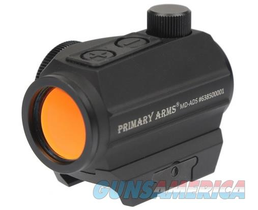 Primary Arms Advanced Micro Red Dot MD-ADS 2 MOA 50k Hours  Non-Guns > Scopes/Mounts/Rings & Optics > Tactical Scopes > Red Dot