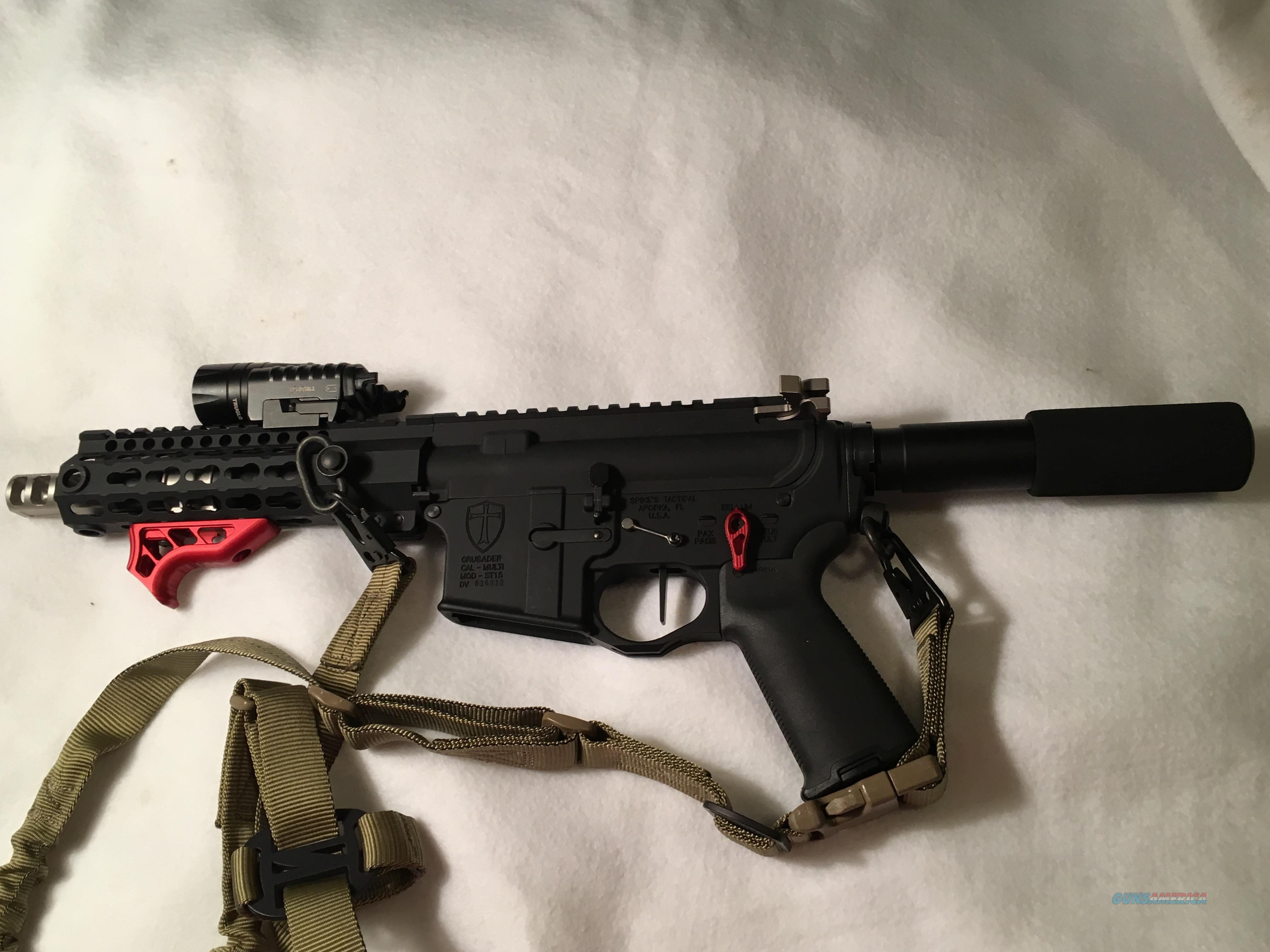 ENHANCED SPIKES TACTICAL CRUSADER PISTOL  Guns > Rifles > Spikes Tactical Rifles