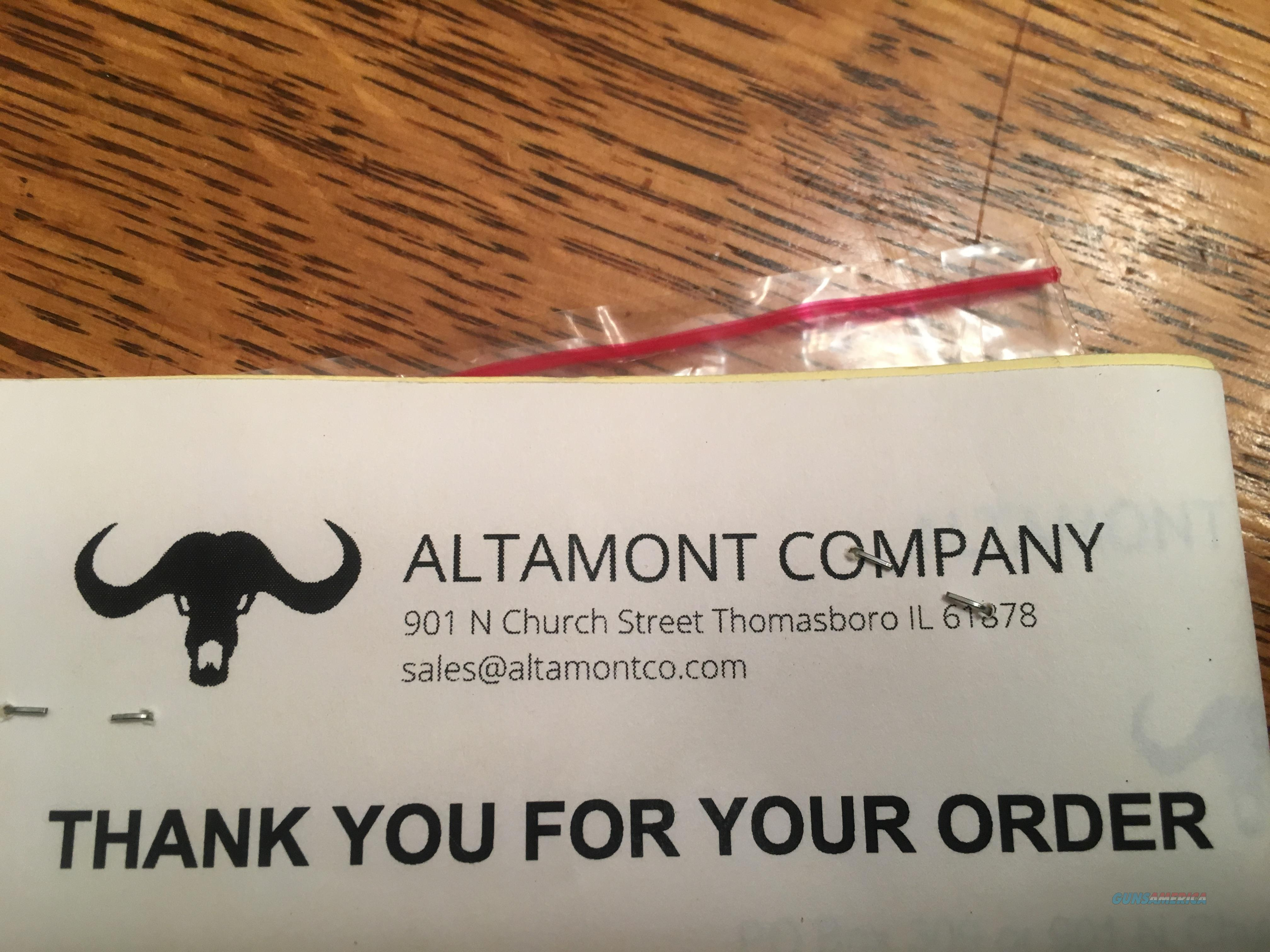 ALTAMONT CUSTOM WOOD GRIPS FOR S&W REVOLVERS  Non-Guns > Gunstocks, Grips & Wood