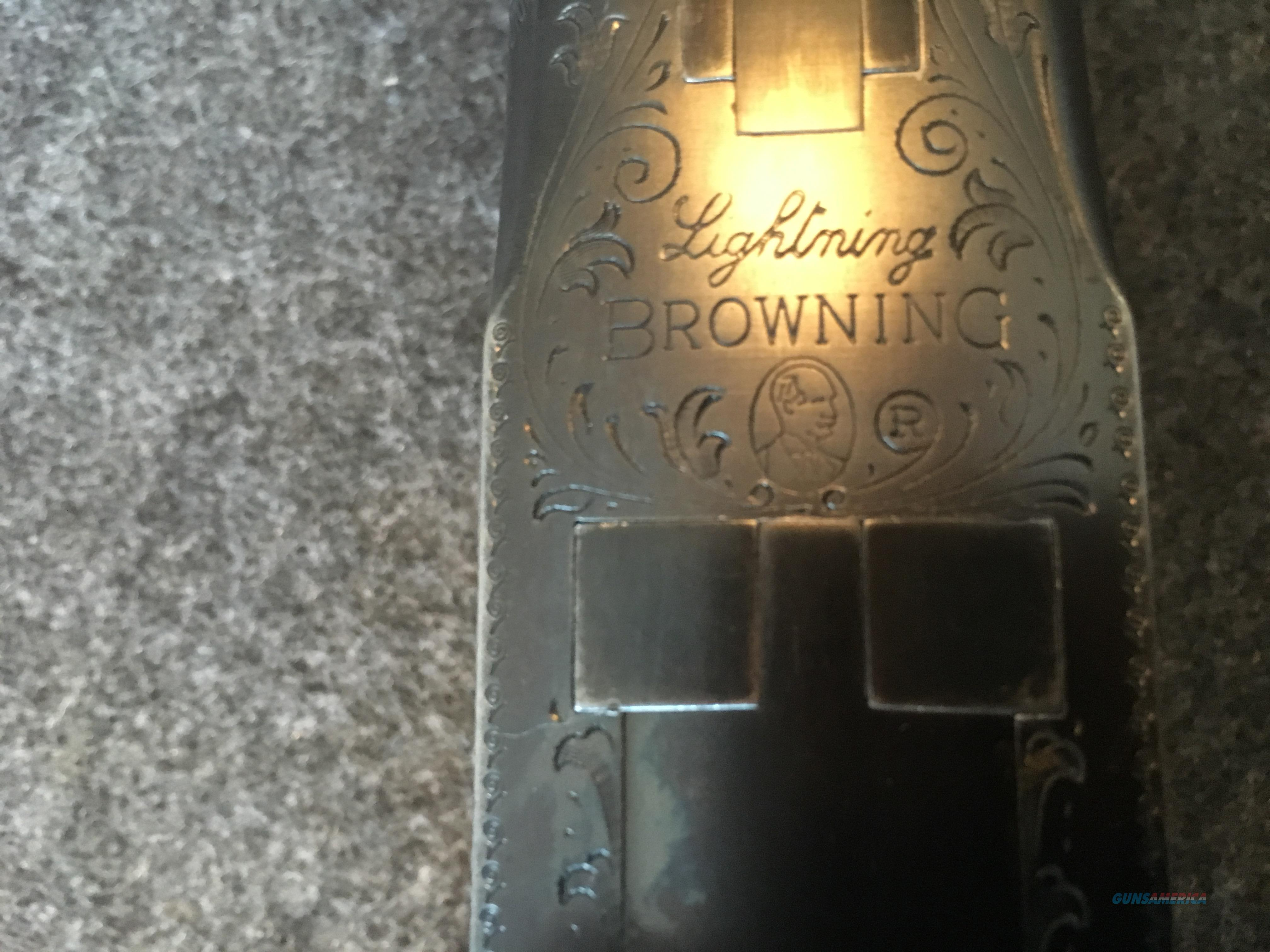 "BELGIUM BROWNING  OVER/UNDER ""LIGHTING"" (Manufactured in 1962)   Guns > Shotguns > Browning Shotguns > Over Unders > Belgian Manufacture"