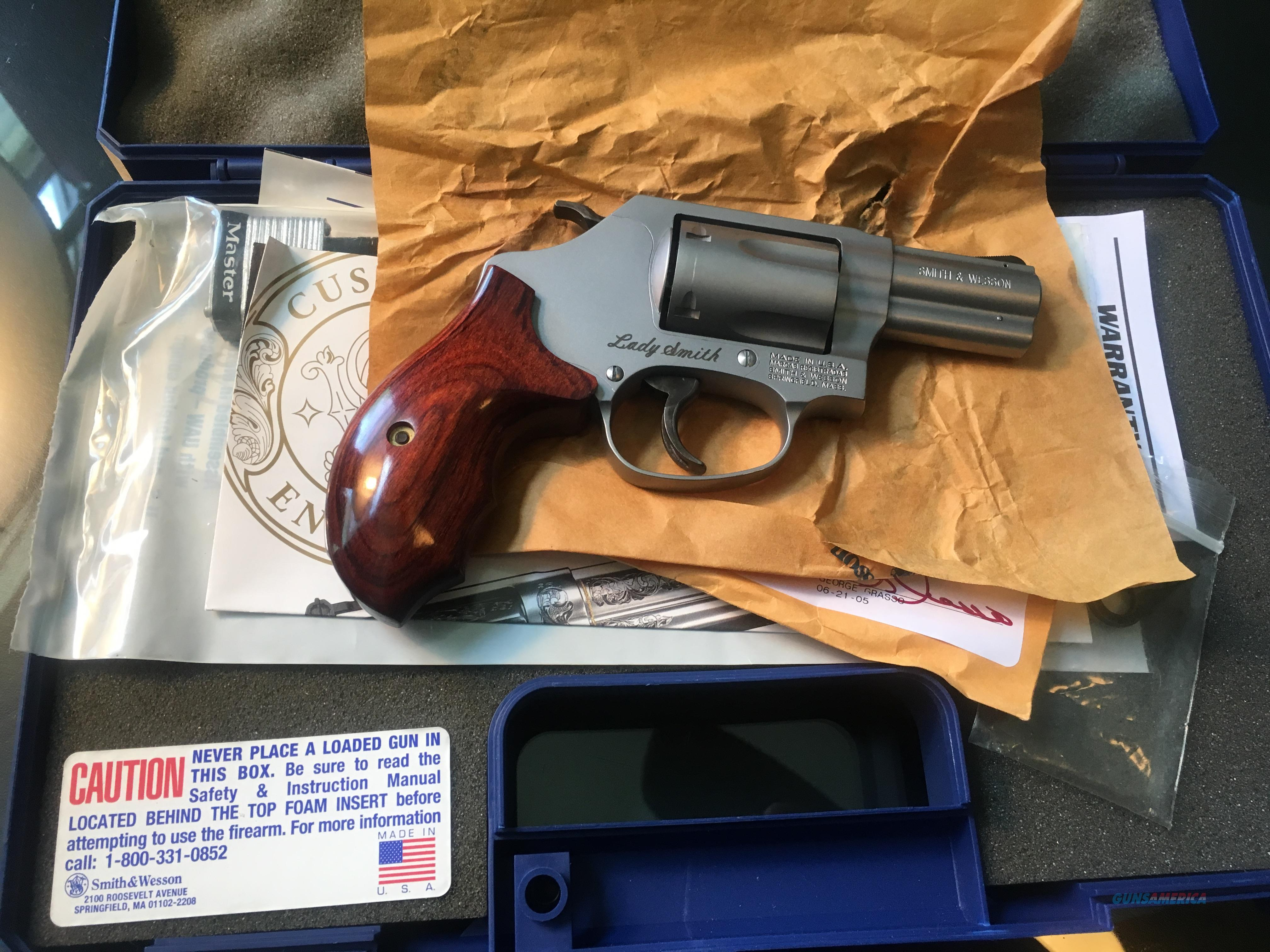 "Smith & Wesson Model 60 LS ""LADY SMITH""  Guns > Pistols > Smith & Wesson Revolvers > Med. Frame ( K/L )"
