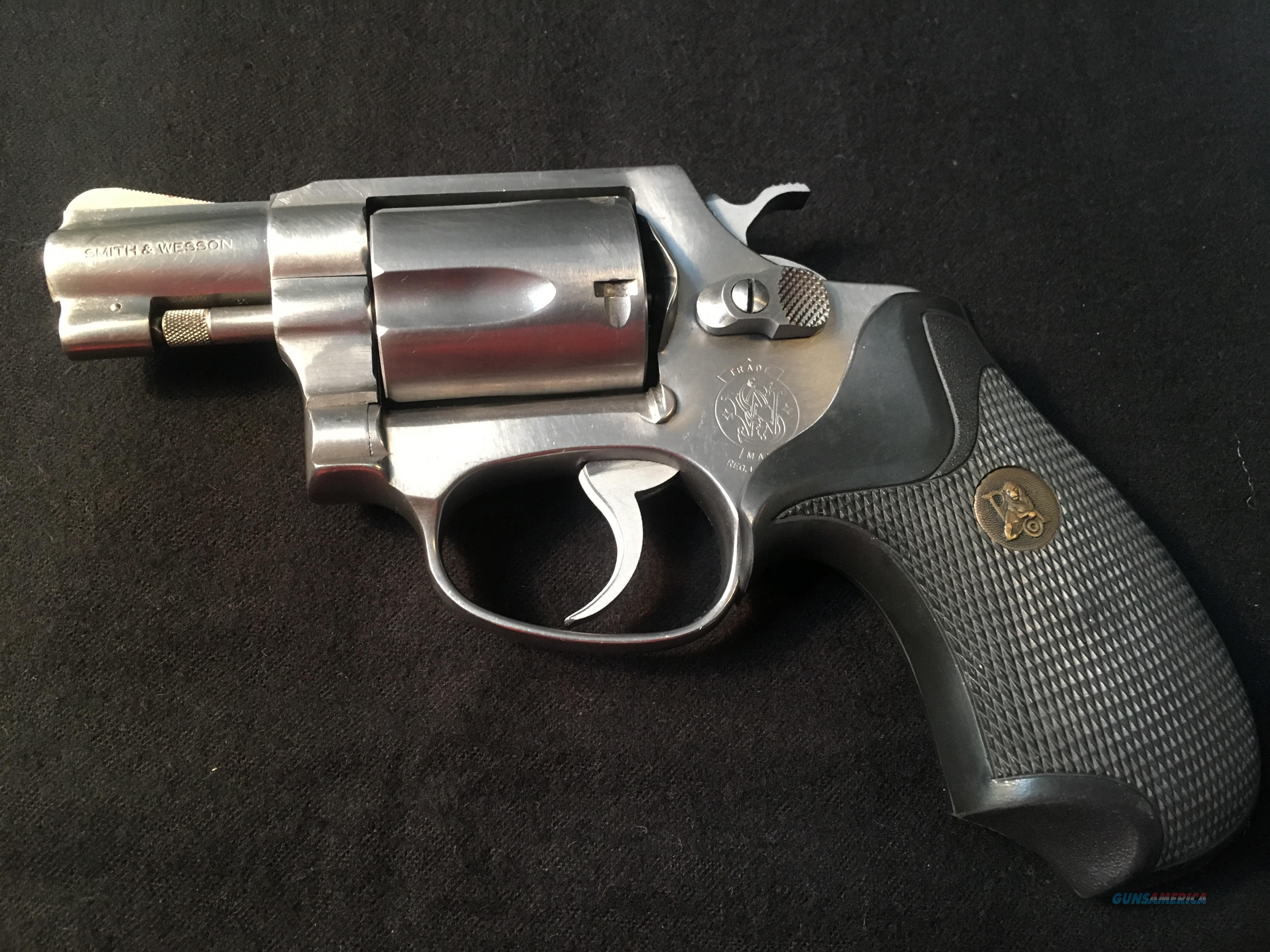 "SMITH & WESSON MODEL 60 (no dash) STAINLESS 2"" BARREL   Guns > Pistols > Smith & Wesson Revolvers > Med. Frame ( K/L )"