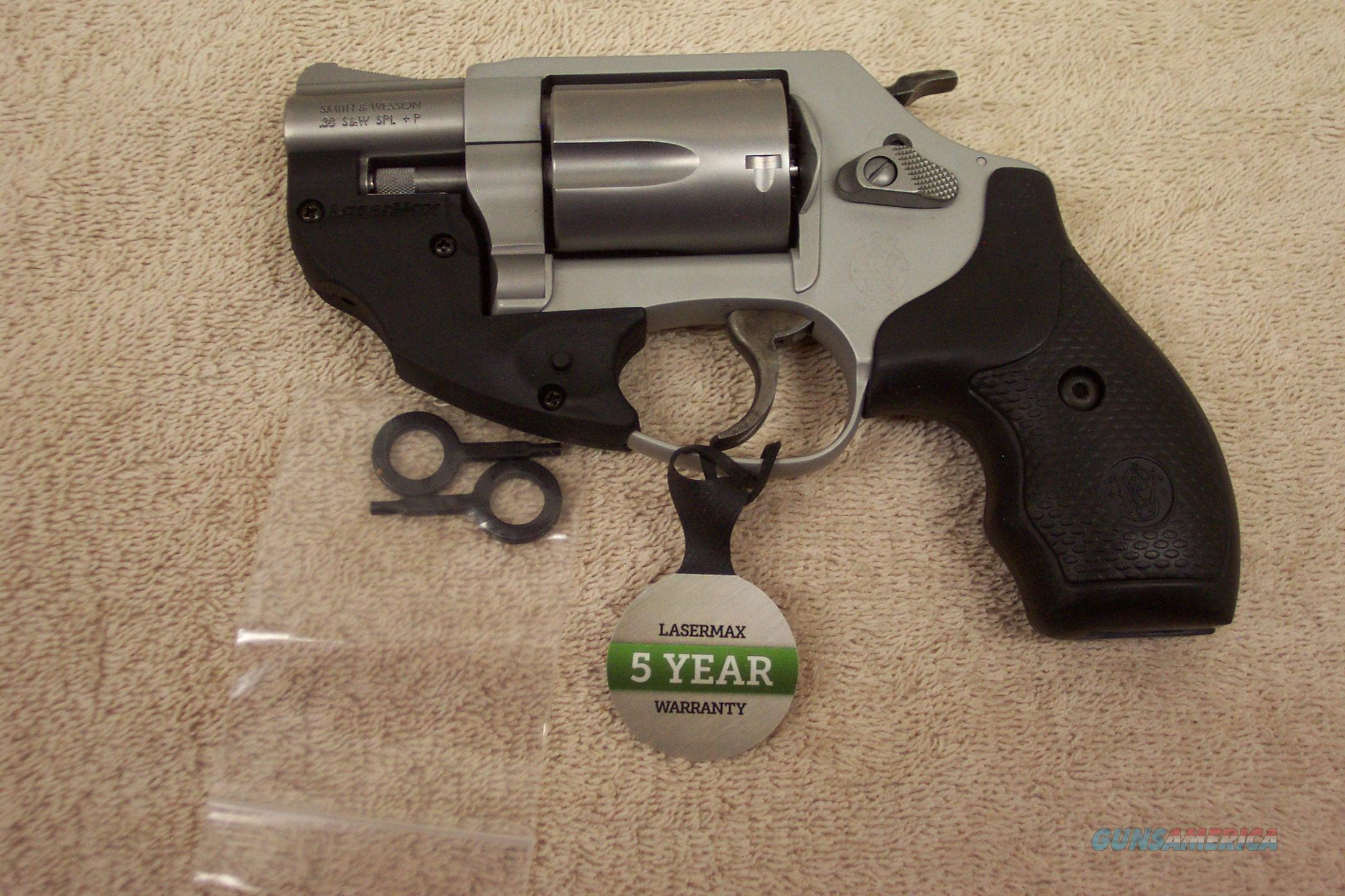 SMITH & WESSON MOD 637-2 38SPL +P W/LASER MAX SS  Guns > Pistols > Smith & Wesson Revolvers > Pocket Pistols