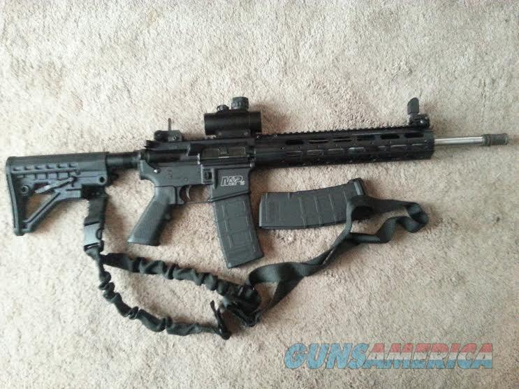 AR15 M&P15 custom, loaded with everything you need  Guns > Rifles > Smith & Wesson Rifles > M&P