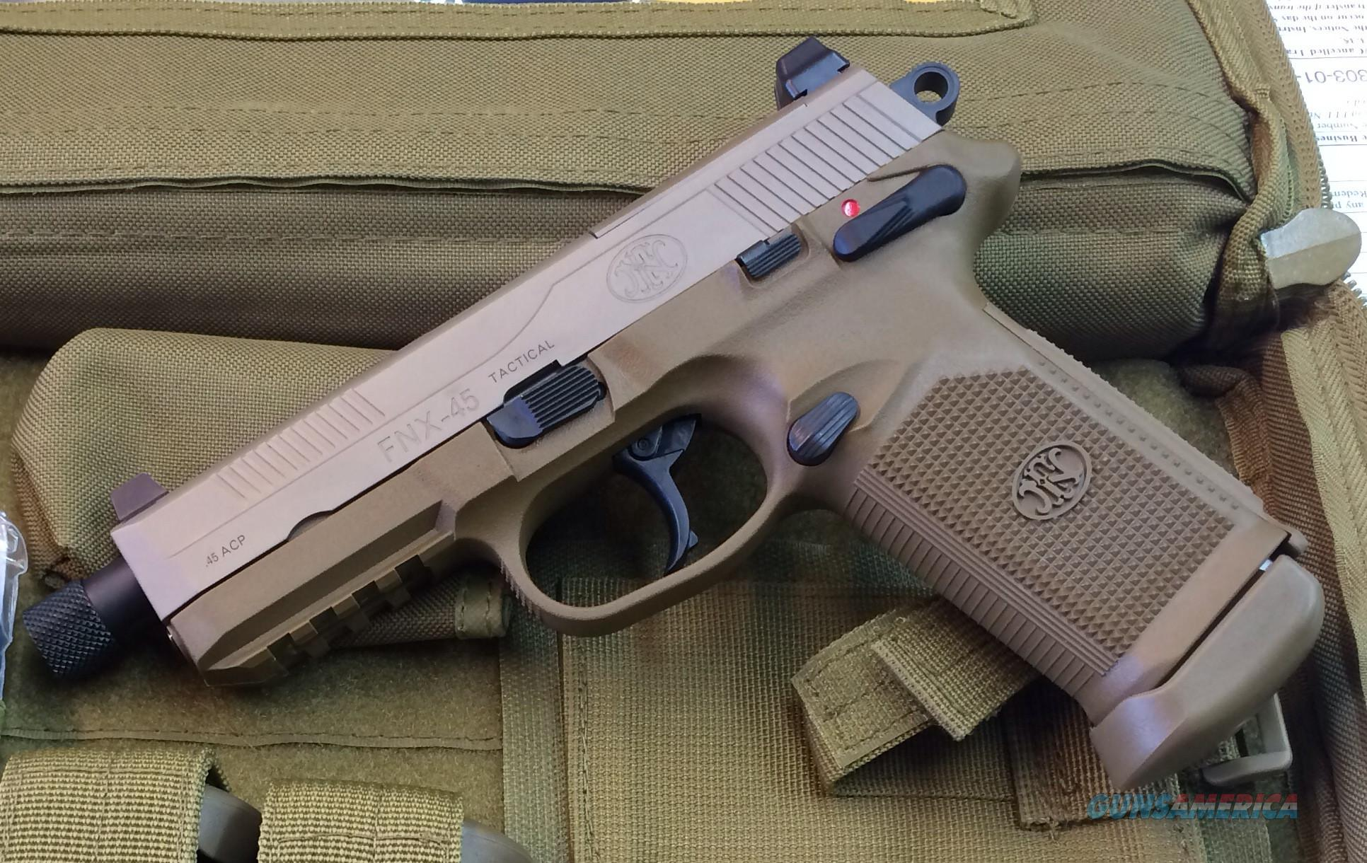 FN FNX .45 Tactical FDE for sale (912163647)
