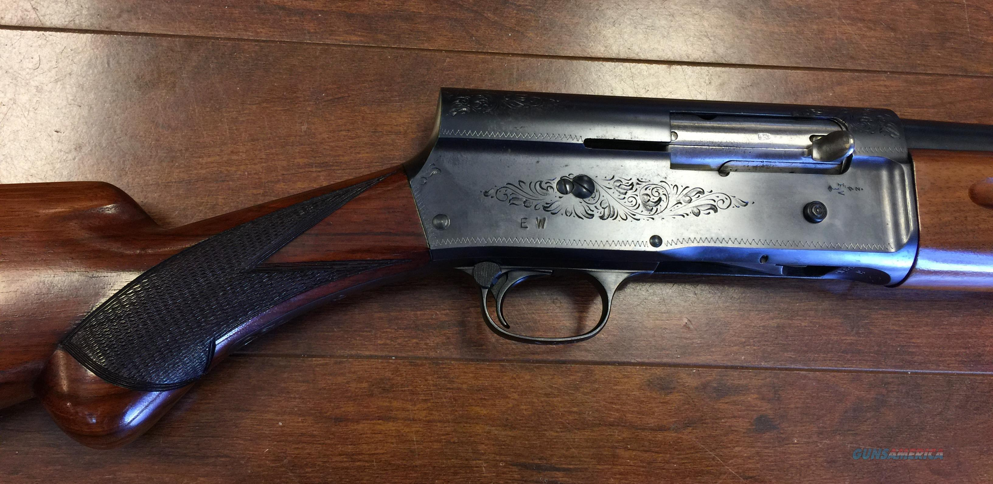 Browning a5 auto 1954 serial h2275 made in belgium by fn guns