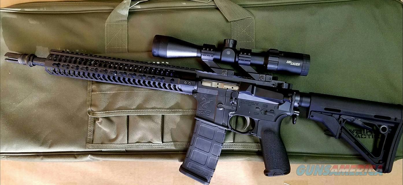 SST Defense Suppressor Optimized rifle - Lefty w/ aac sr5  Guns > Rifles > AR-15 Rifles - Small Manufacturers > Complete Rifle
