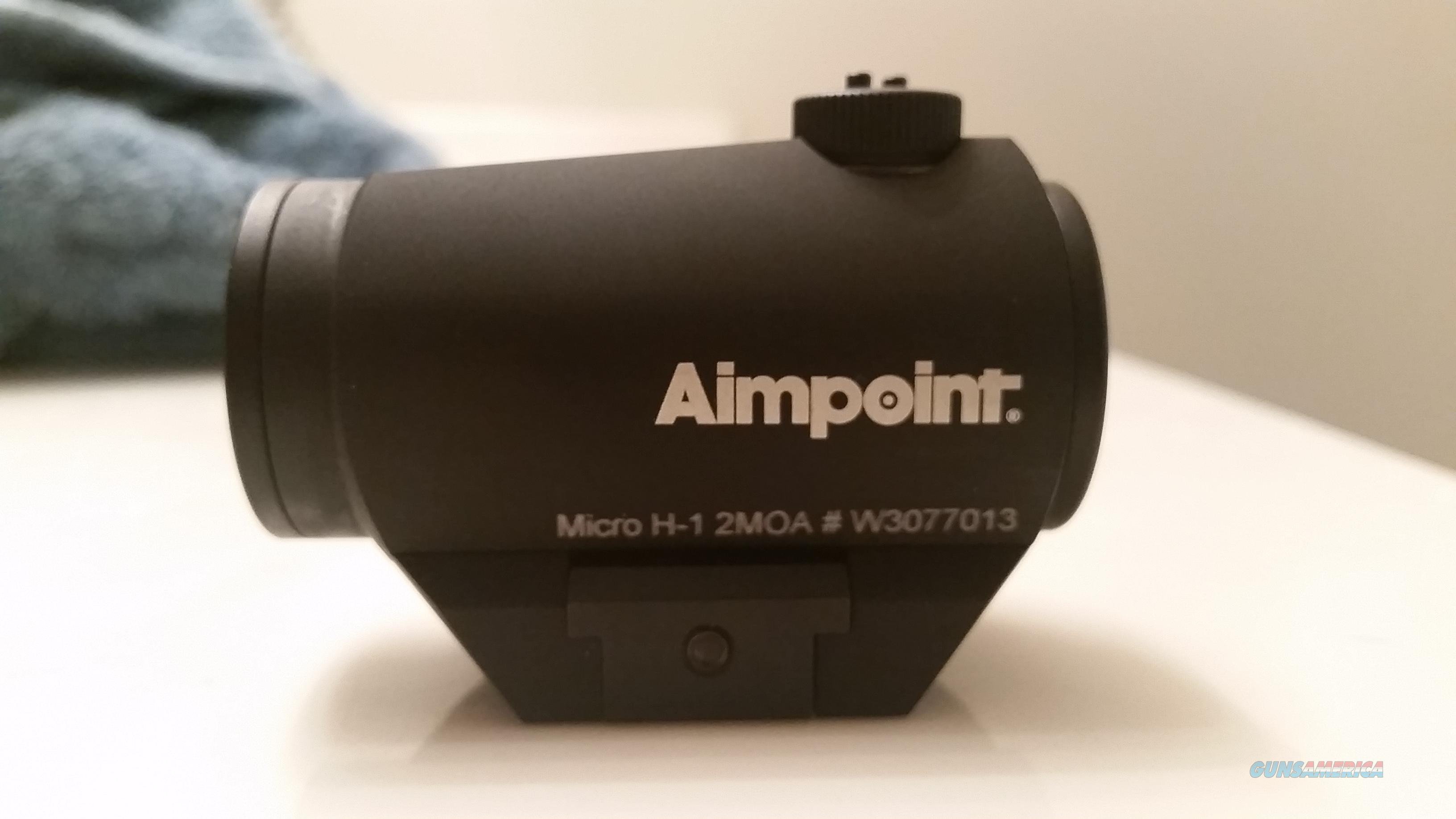 Aimpoint Micro H-1 2 MOA Red Dot Sight  Non-Guns > Scopes/Mounts/Rings & Optics > Tactical Scopes > Red Dot