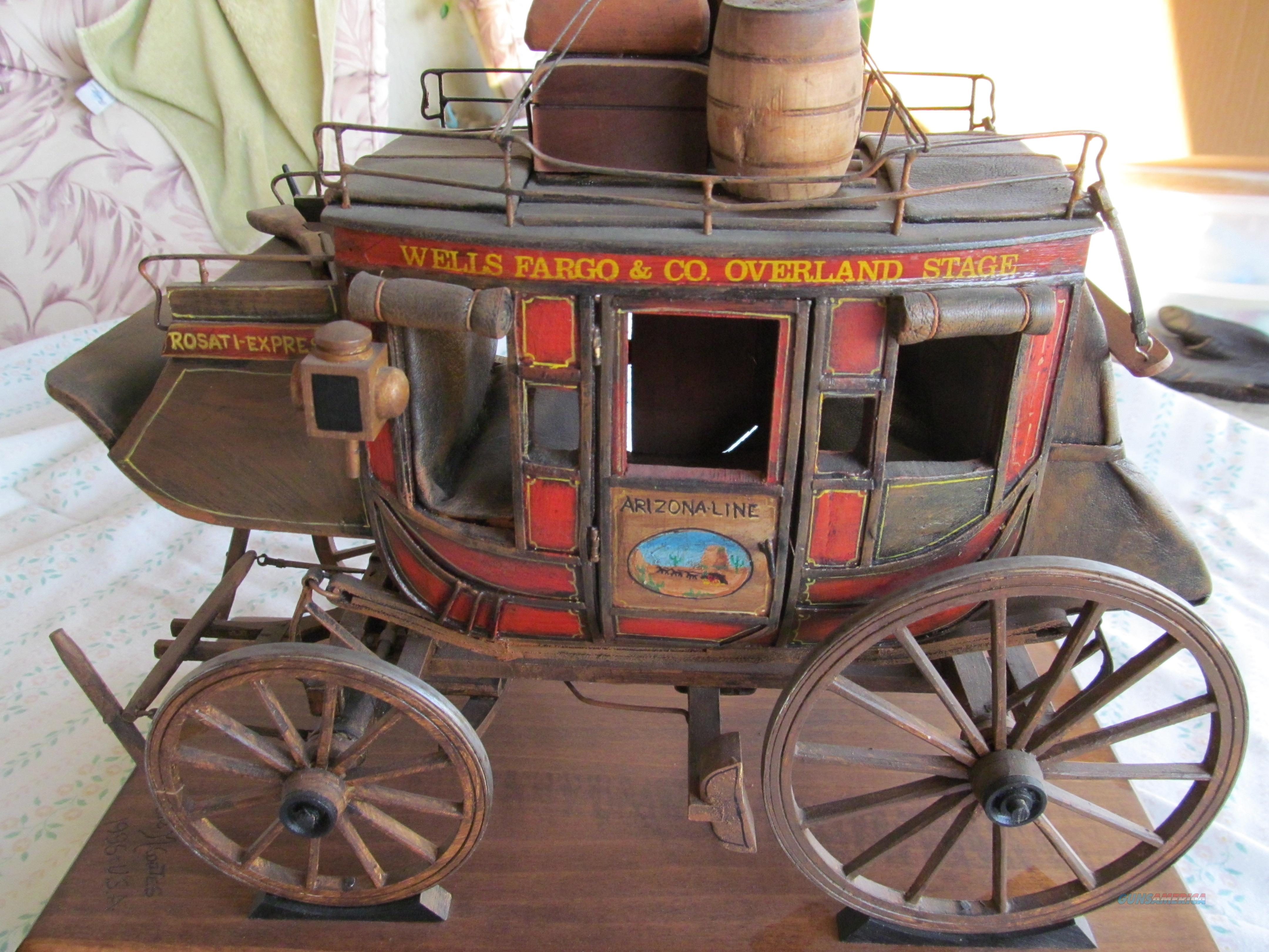 Museum Quality Stage Coach  Non-Guns > Hobbies and Collectibles > Scale Models > Other/Misc
