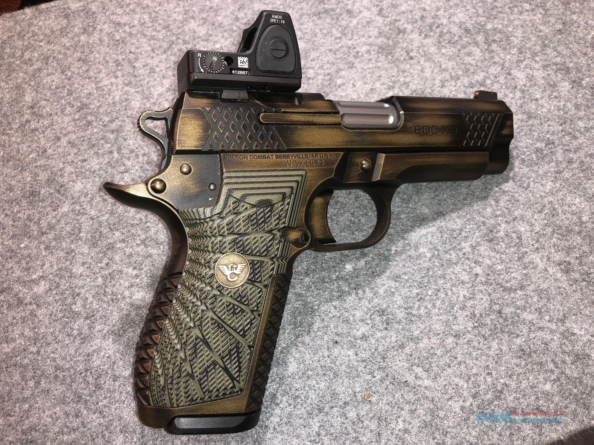 Wilson Combat Custom EDC X-9  Guns > Pistols > 1911 Pistol Copies (non-Colt)