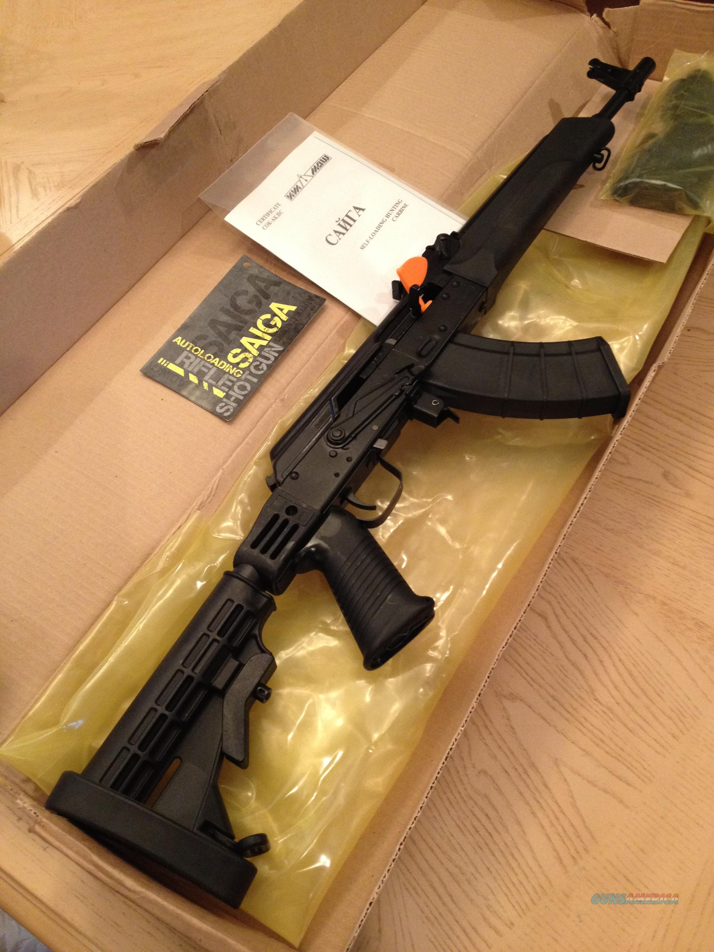 Banned by Obama:  Russian Saiga AK-47 Tactical in 7.62X39  Guns > Rifles > AK-47 Rifles (and copies) > Full Stock