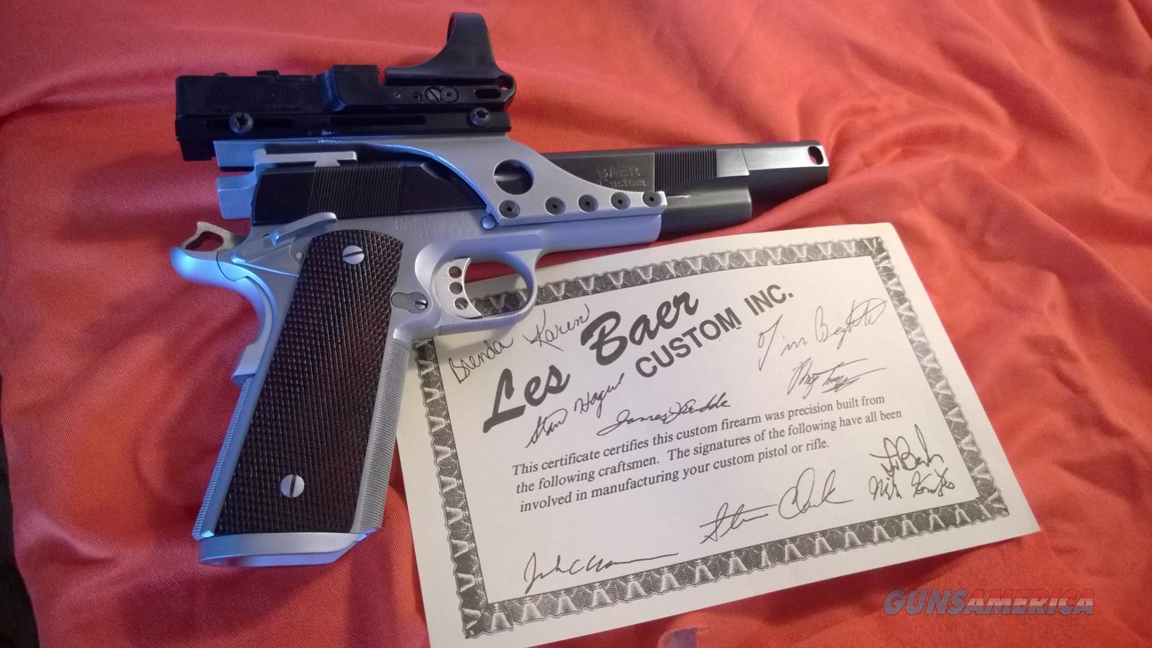 les baer compensated ultimate master 45acp with c more sight  Guns > Pistols > Les Baer Pistols