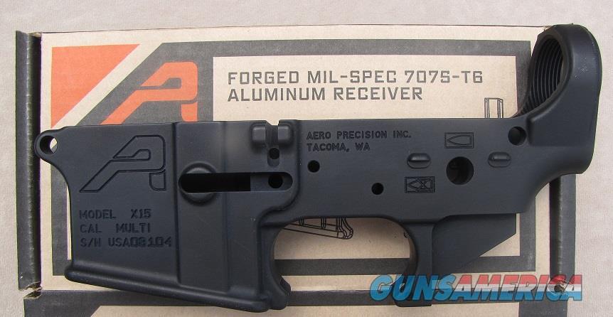 AR15 Stripped Lower Receiver, Gen 2 - Anodized Black  Guns > Rifles > Aero Precision > Aero Precision Rifles