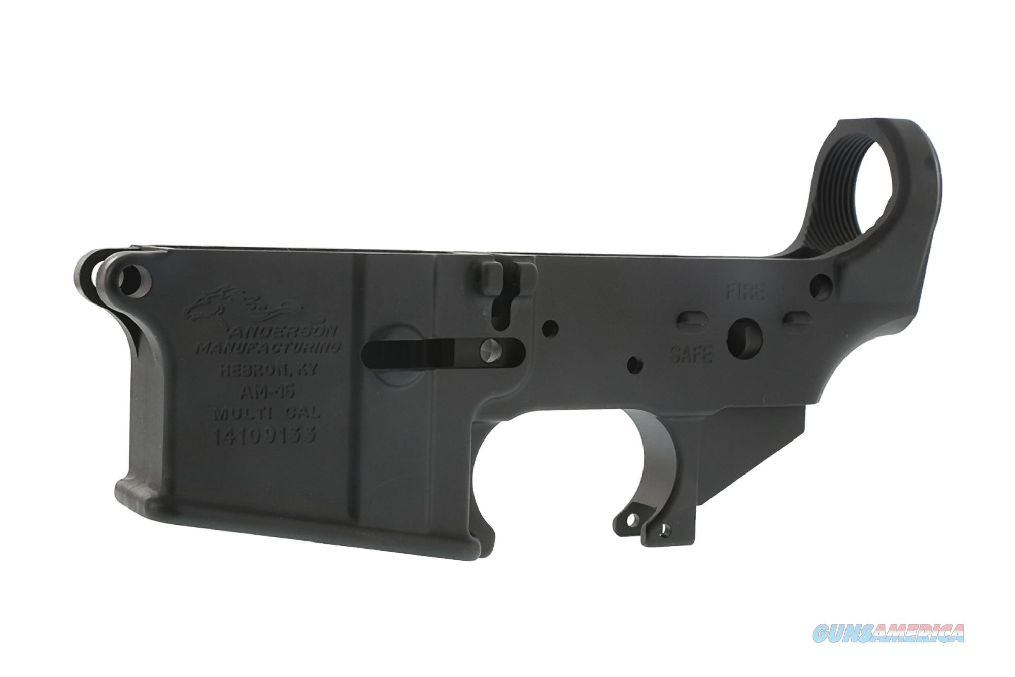 ANDERSON Multi Cal Sripped Lower Receiver  Guns > Rifles > Custom Rifles > Other