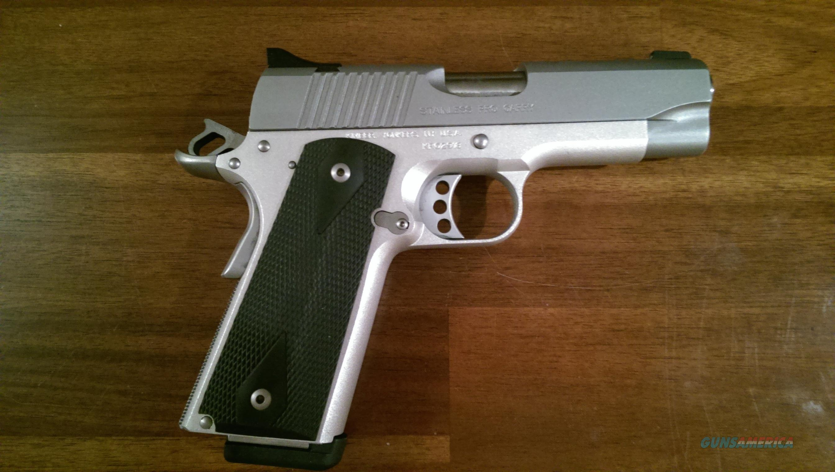 Original Kimber Pro Carry in Stainless with Night Sights  Guns > Pistols > Kimber of America Pistols