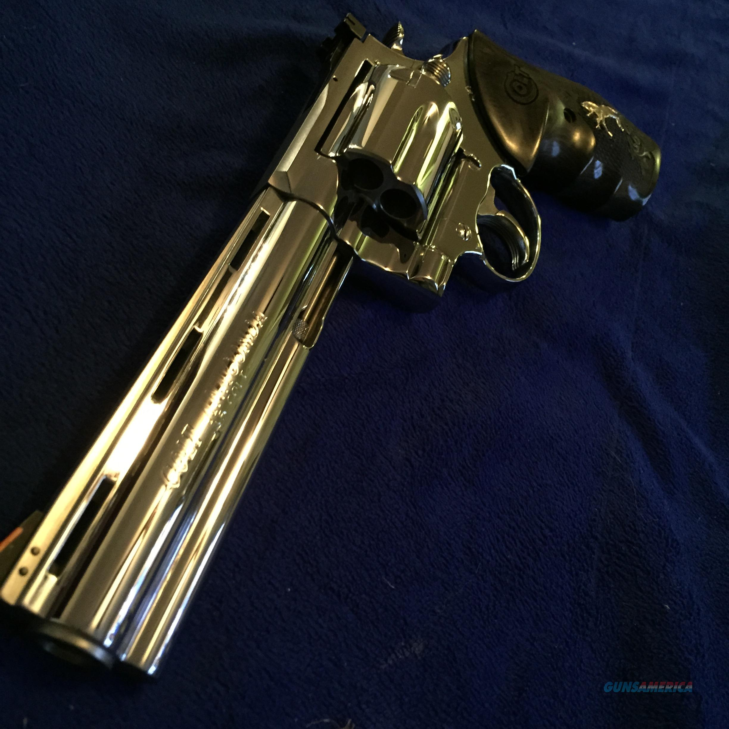 "Gorgeous Colt Anaconda BSTS .45 long colt like new in box 6""  Guns > Pistols > Colt Double Action Revolvers- Modern"