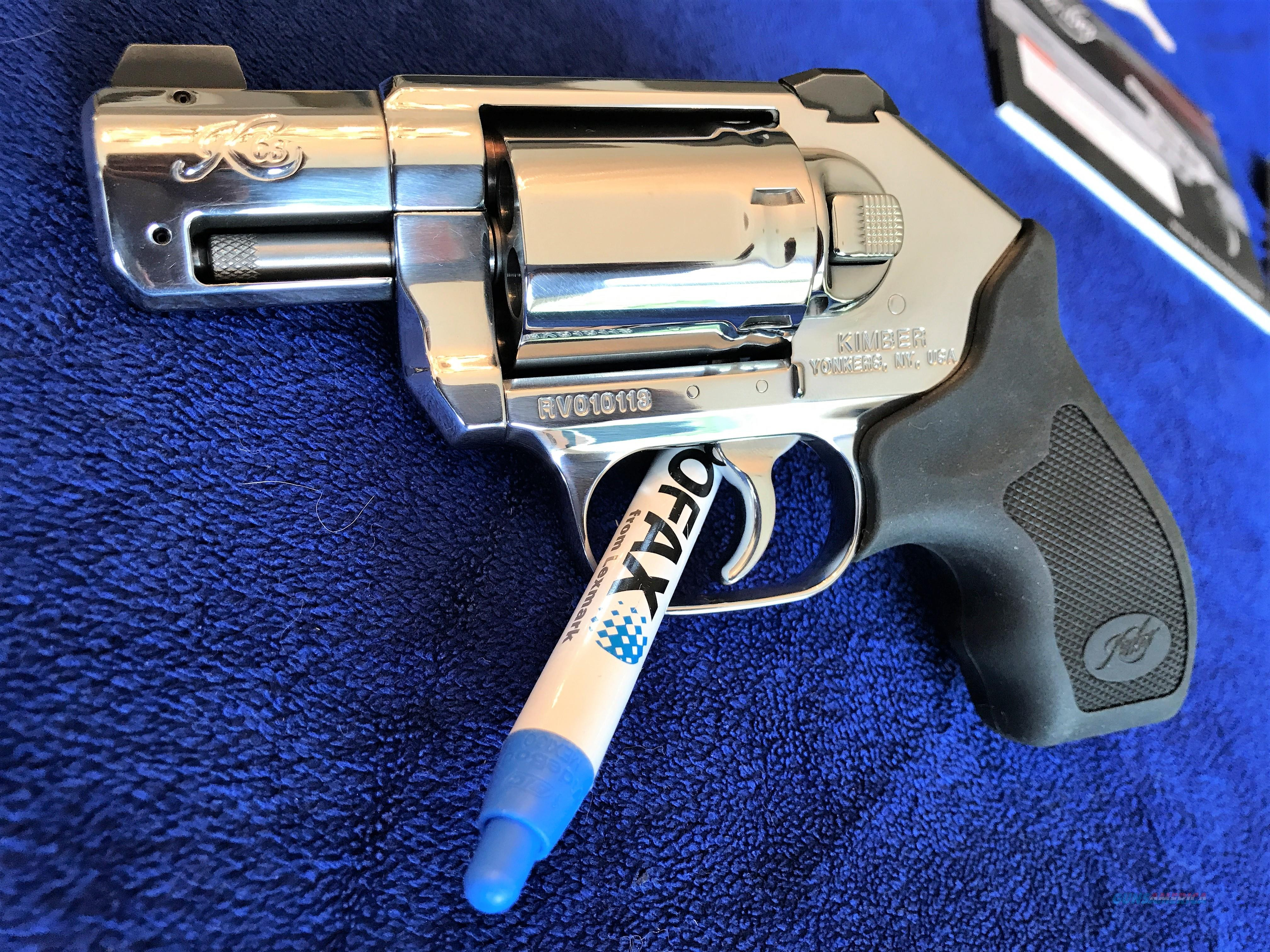 GORGEOUS Kimber .357 Bright Stainless K6S Revolver New Collector Series BSTS  Guns > Pistols > Kimber of America Pistols > Revolvers