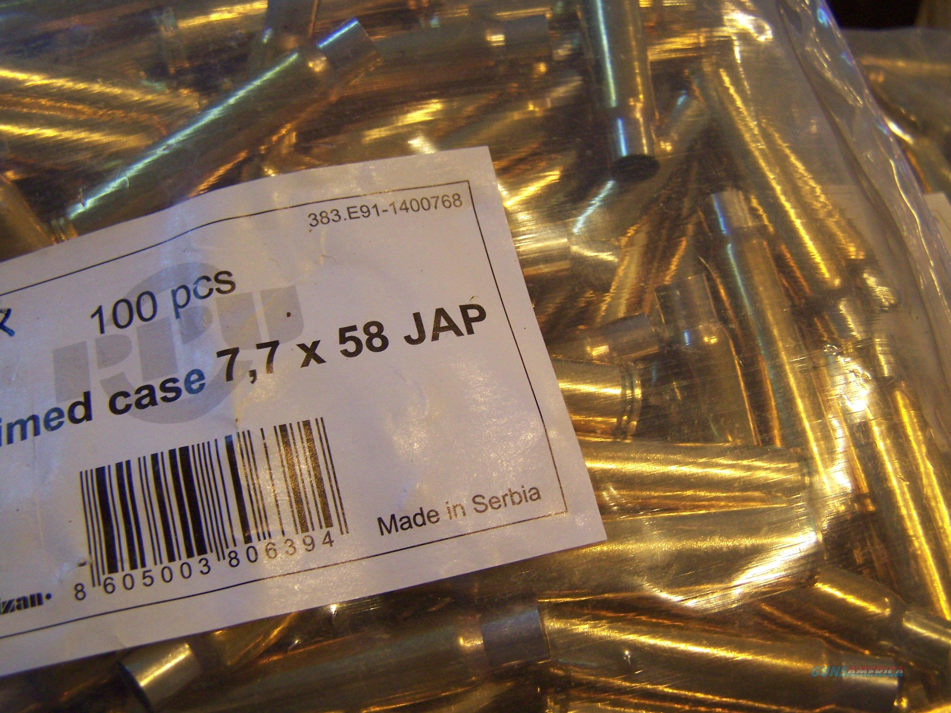 7.7 Jap Brass new 200 pcs.   Non-Guns > Reloading > Components > Brass