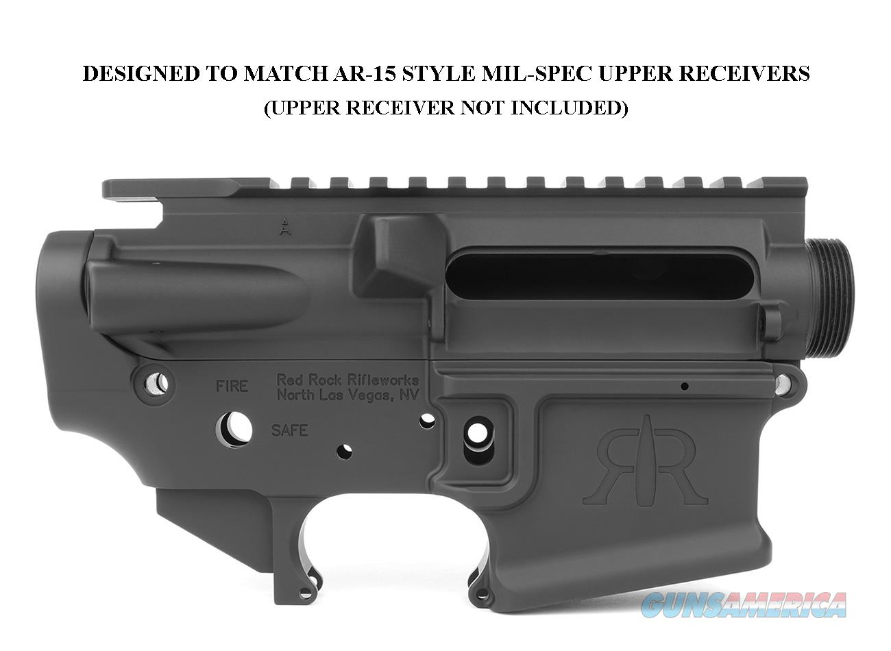 Red Rock Rifleworks RRR-15 AR-15 Style Stripped Billet Lower Receiver  Guns > Rifles > A Misc Rifles