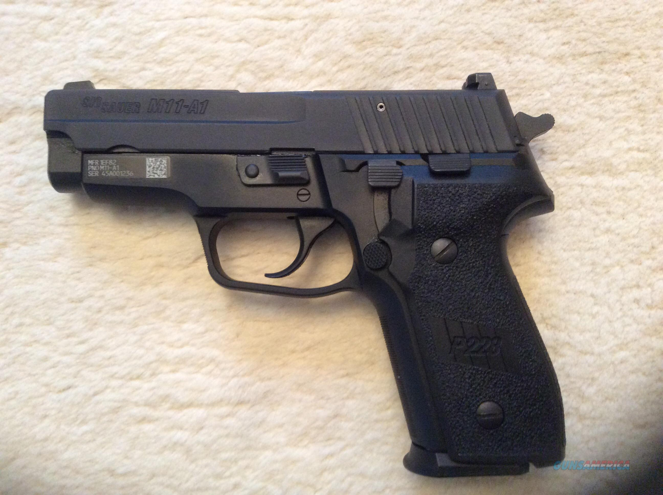 Sig Sauer M11-A1  Guns > Pistols > Sig - Sauer/Sigarms Pistols > Other