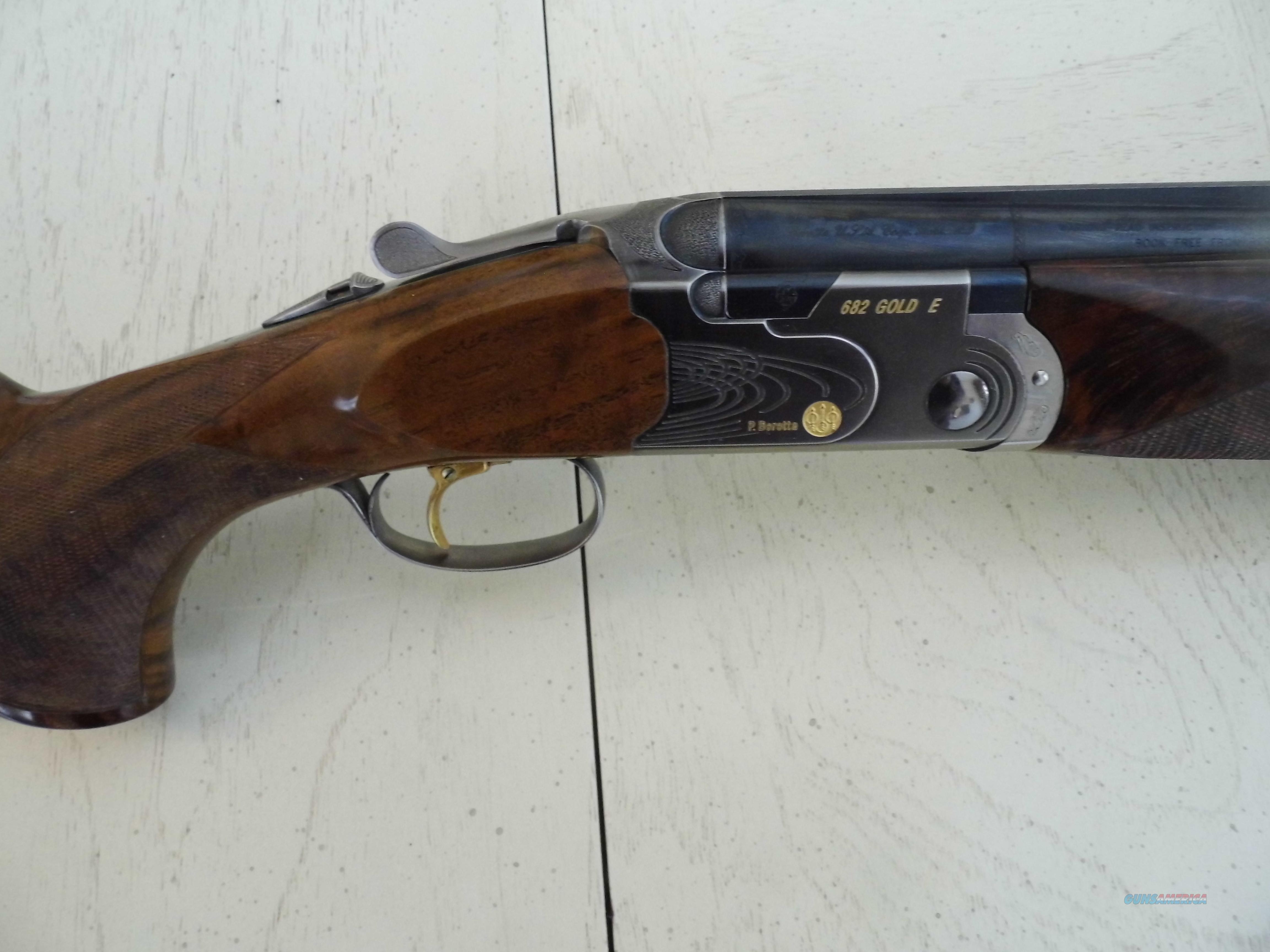Beretta 682 Gold E, 12 GA. O/U Sporting Clays  Guns > Shotguns > Beretta Shotguns > O/U > Trap/Skeet