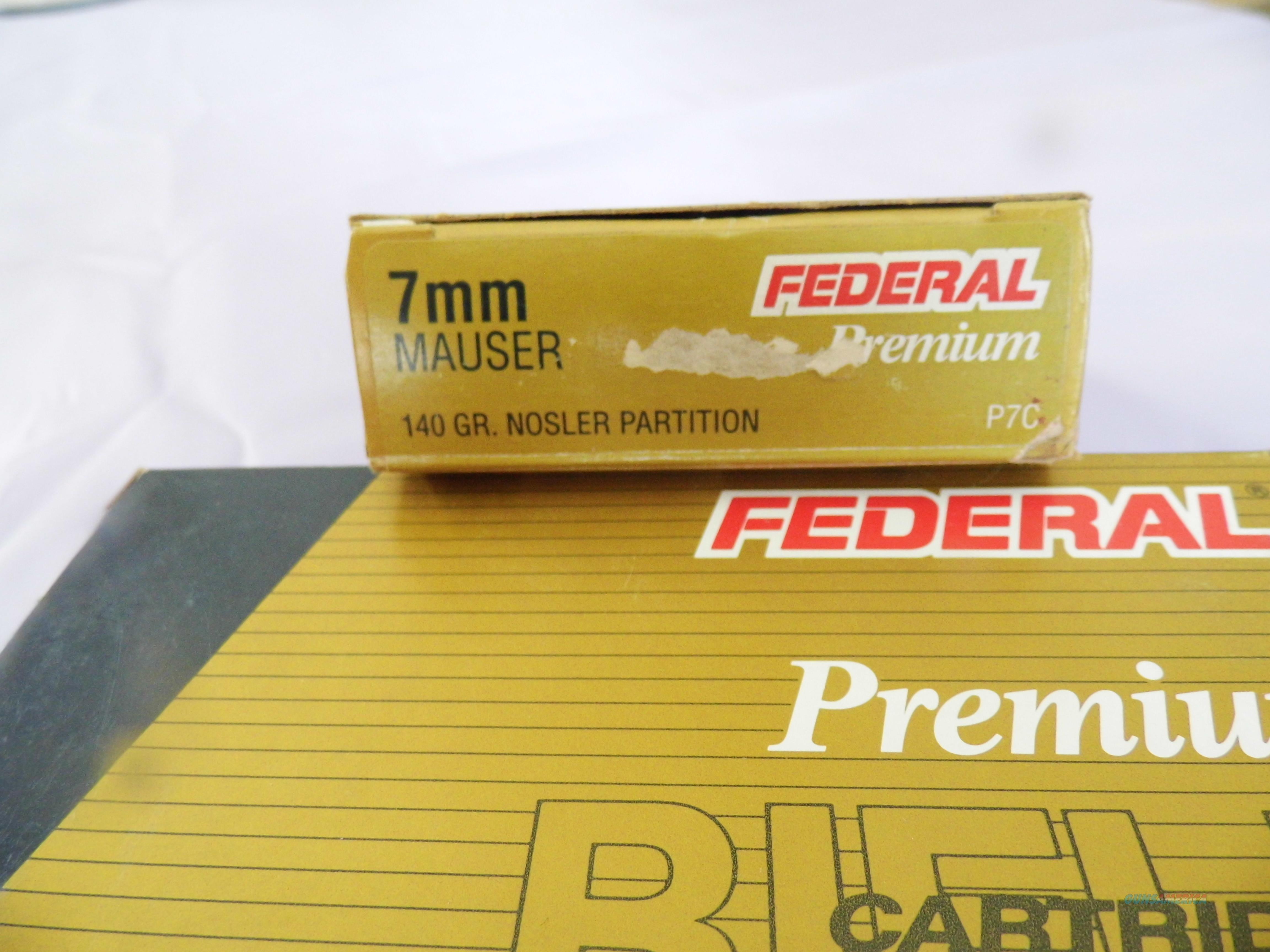 Federal Prmium 7 mm Rem. Mag. 150 Grain, Ballistic Tip, Two Boxes minus one round, 39 rounds total  Non-Guns > Ammunition