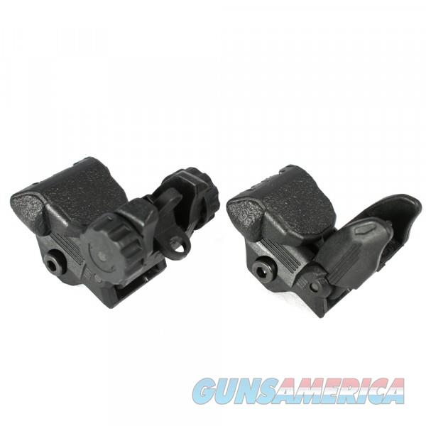 Flip Up Front and Rear Sights, Picatinny Rail  Non-Guns > Iron/Metal/Peep Sights