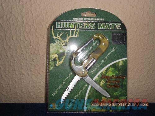 Hunters Mate 4n1 Carabiner Saw, Led light and Knife  Non-Guns > Knives/Swords > Knives > Folding Blade > Imported