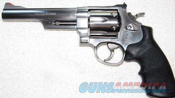 SMITH & WESSON Model 629-5 PRE-LOCK..STAINLESS STEEL REVOLVER -- .44 MAGNUM ..  Guns > Pistols > Smith & Wesson Revolvers > Model 629
