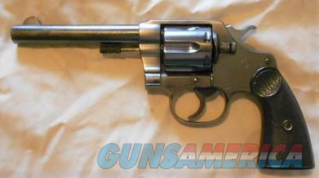 1910 - .45 cal. Colt New Service Double Action Revolver..  Guns > Pistols > Colt Double Action Revolvers- Pre-1945