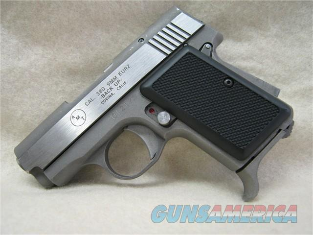 AMT Backup 380 Stainless Steel Pisto  Guns > Pistols > AMT Pistols > Double Action