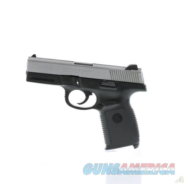 Smith & Wesson Sigma SW9VE Black Frame / Stainless Slide 9mm Pistol  Guns > Pistols > Smith & Wesson Pistols - Autos > Polymer Frame