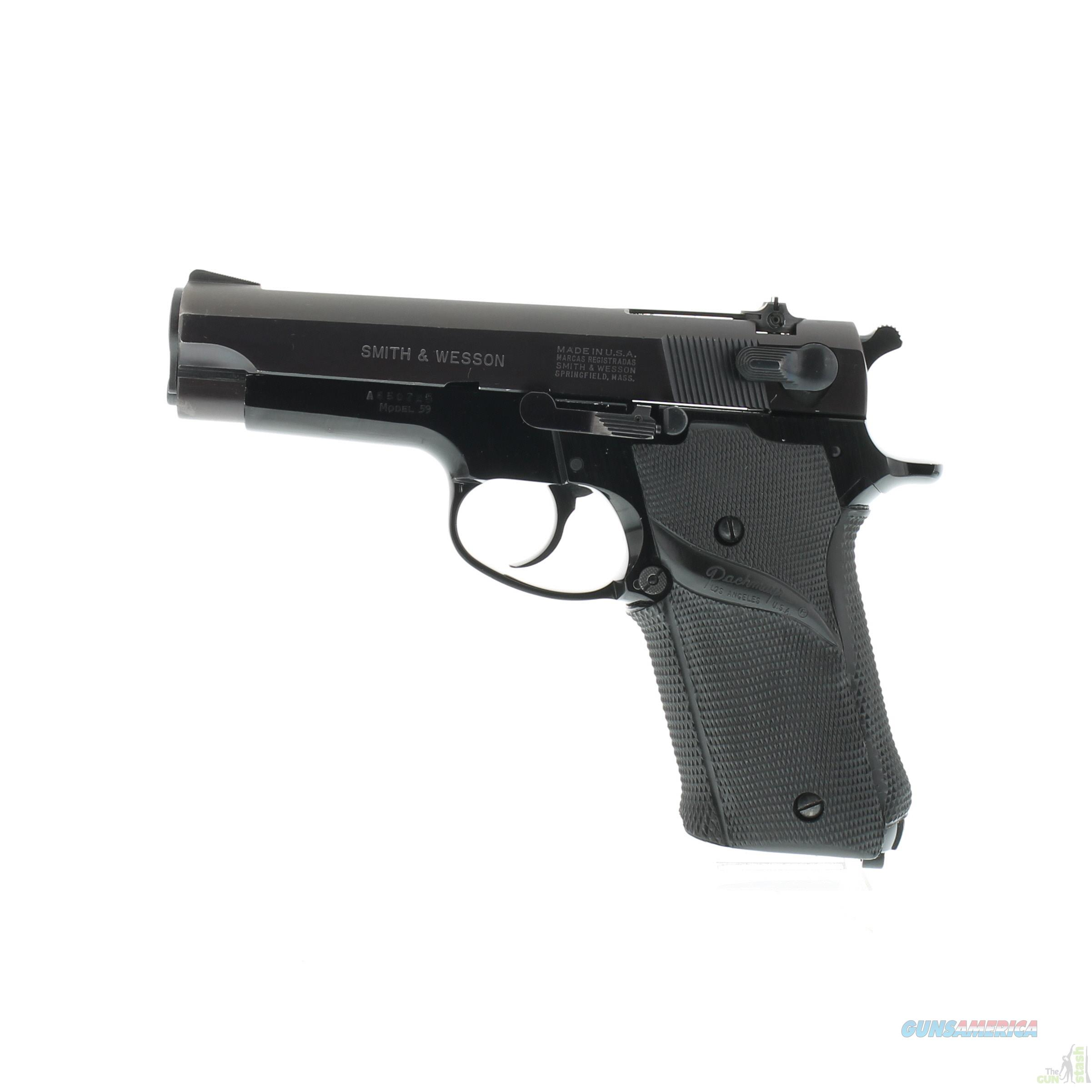 Smith & Wesson Model 59 - 9mm  Guns > Pistols > Smith & Wesson Pistols - Autos > Steel Frame