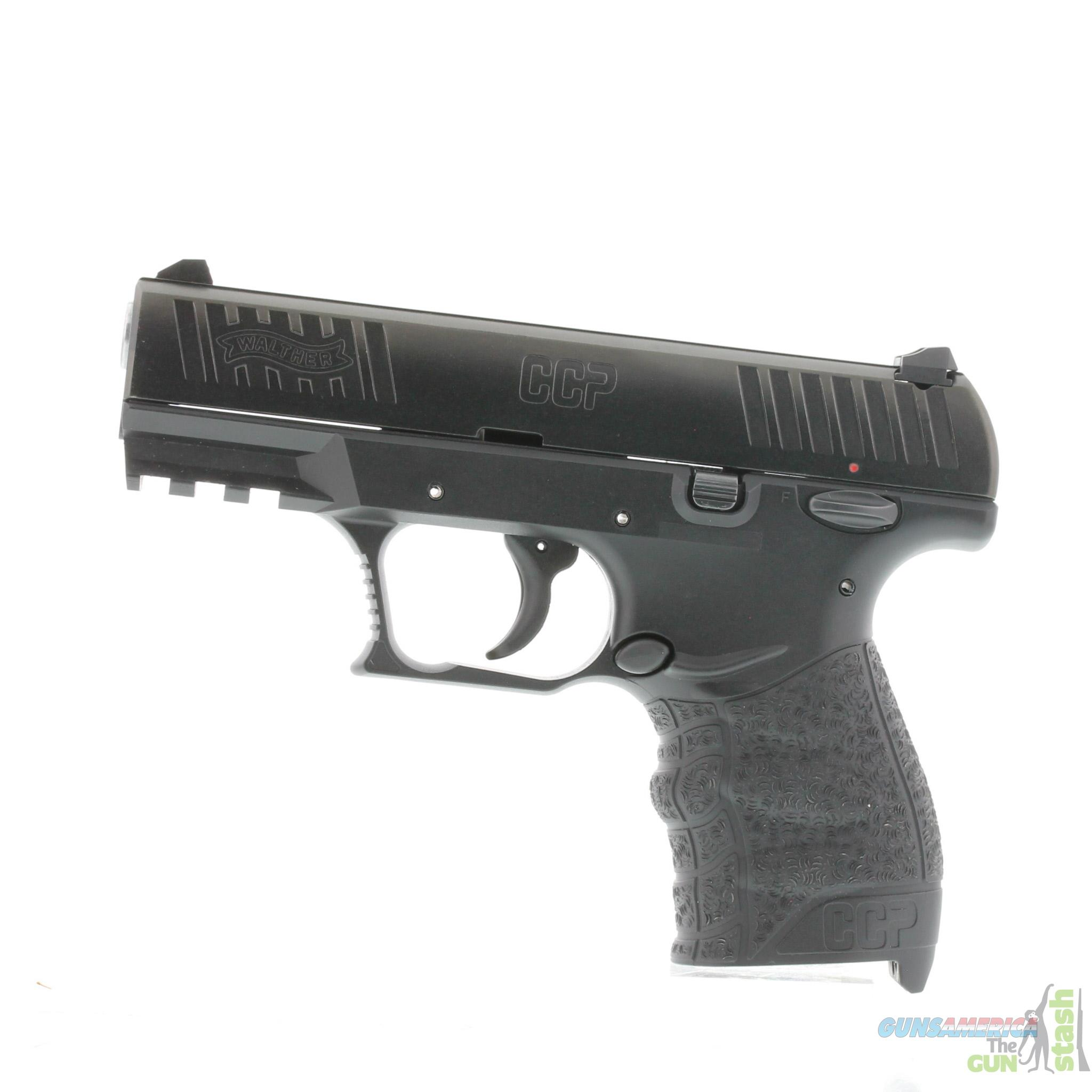 Walther CCP (Concealed Carry Pistol) Single Stack 9mm Pistol  Guns > Pistols > Walther Pistols > Post WWII > CCP