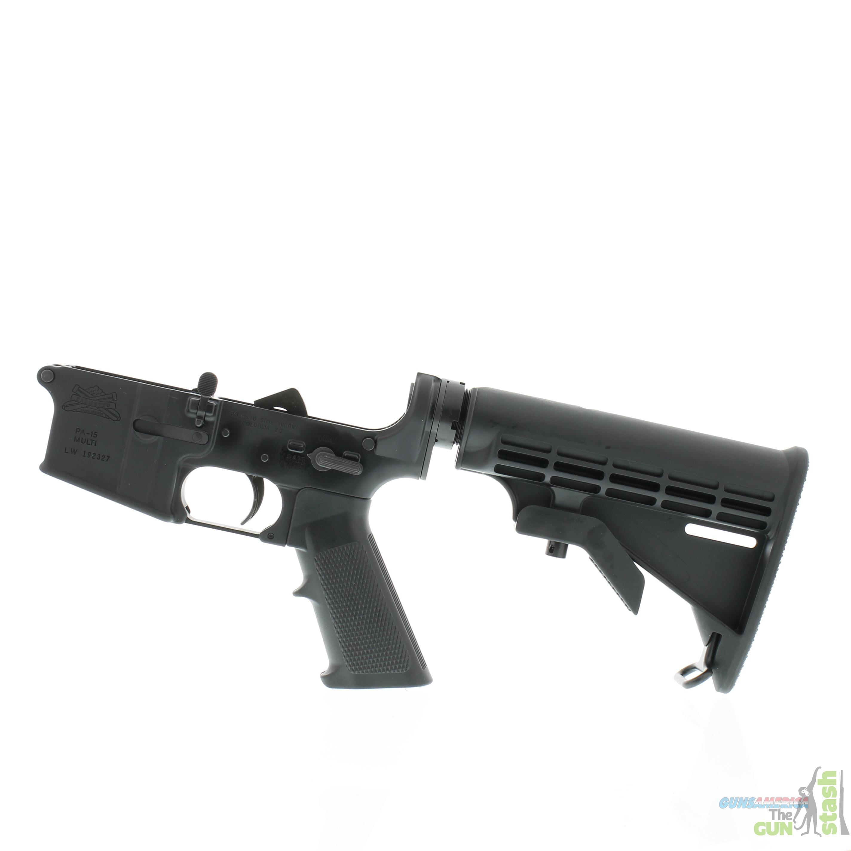 Palmetto State Armory AR-15 Completed Lower Kit - Multi-Caliber  Guns > Rifles > AR-15 Rifles - Small Manufacturers > Lower Only