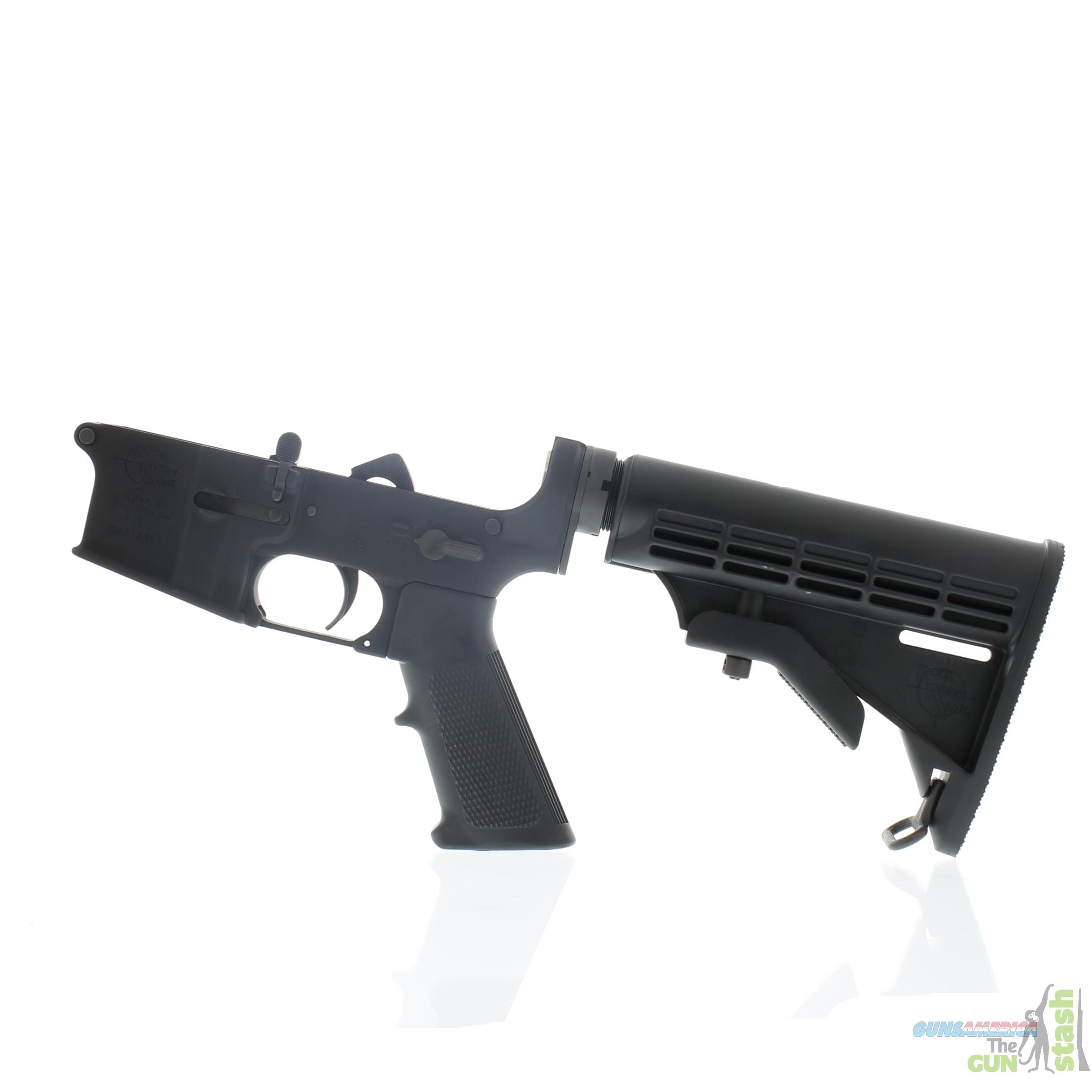 Rock River Arms LAR-15 Complete Lower -5.56 NATO  Guns > Rifles > AR-15 Rifles - Small Manufacturers > Lower Only
