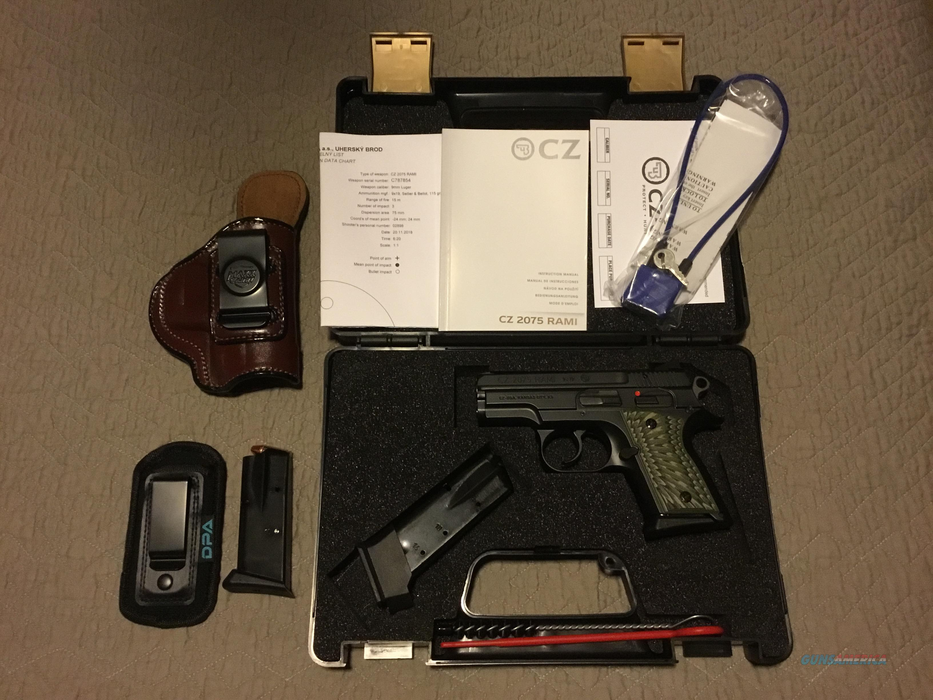 CZ RAMI 9mm safety.  Guns > Pistols > CZ Pistols