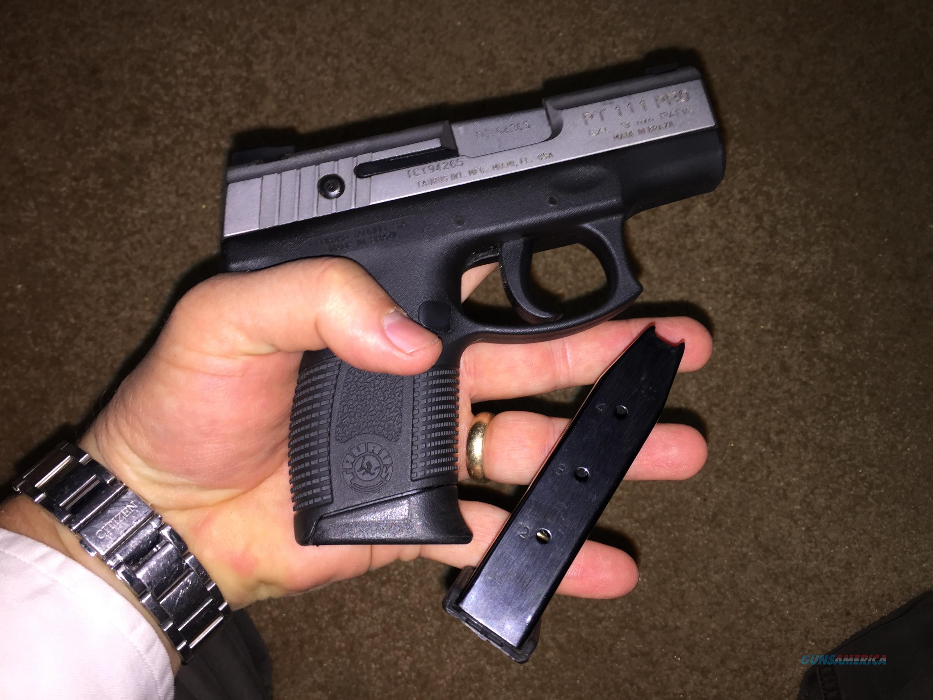 Taurus Millenium Pt 111 9 Mm Handgun Best Gu For Sale