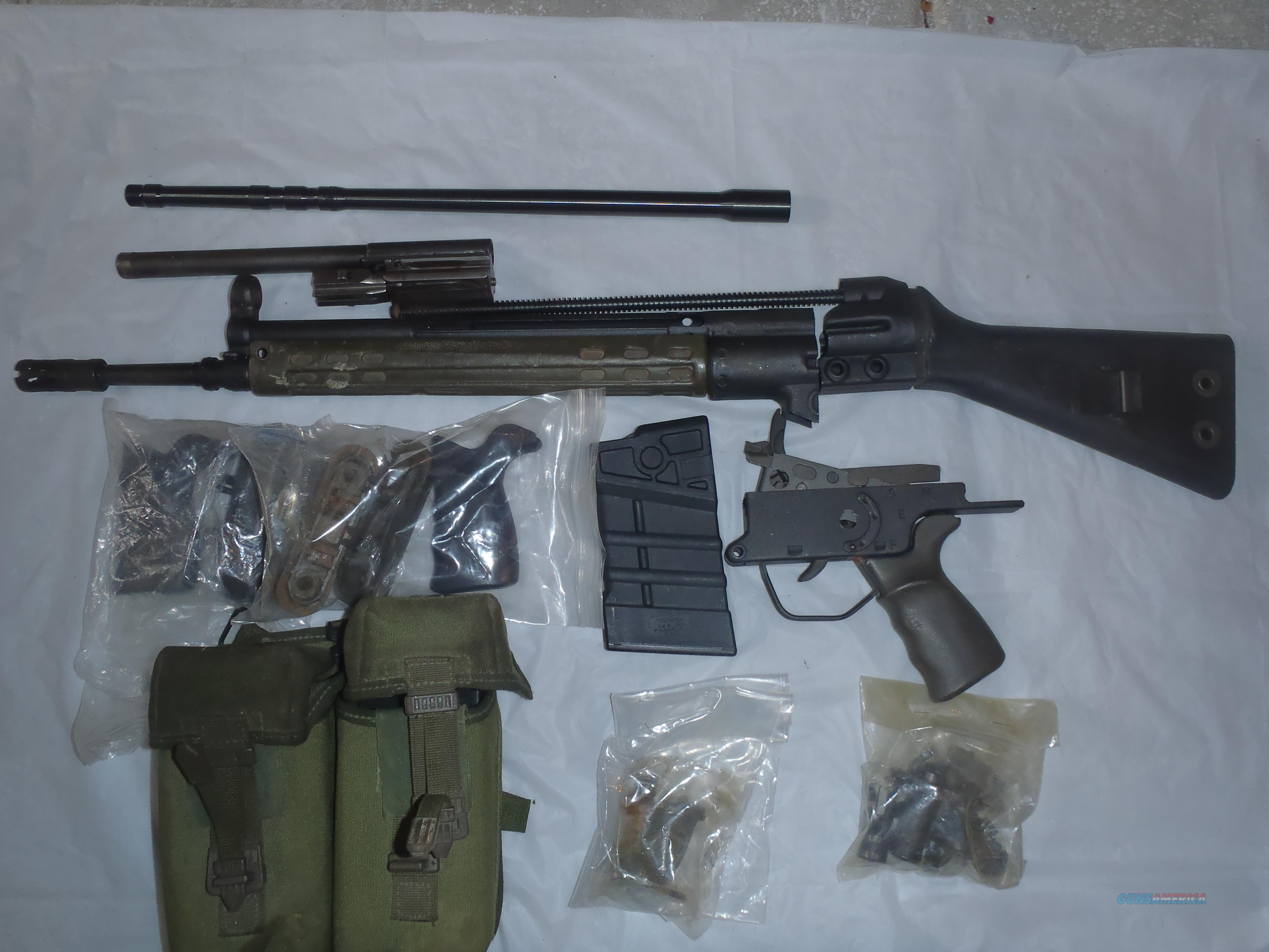 G3 PARTS KIT WITH EXTRA BBL   Guns > Rifles > Military Misc. Rifles Non-US > Other