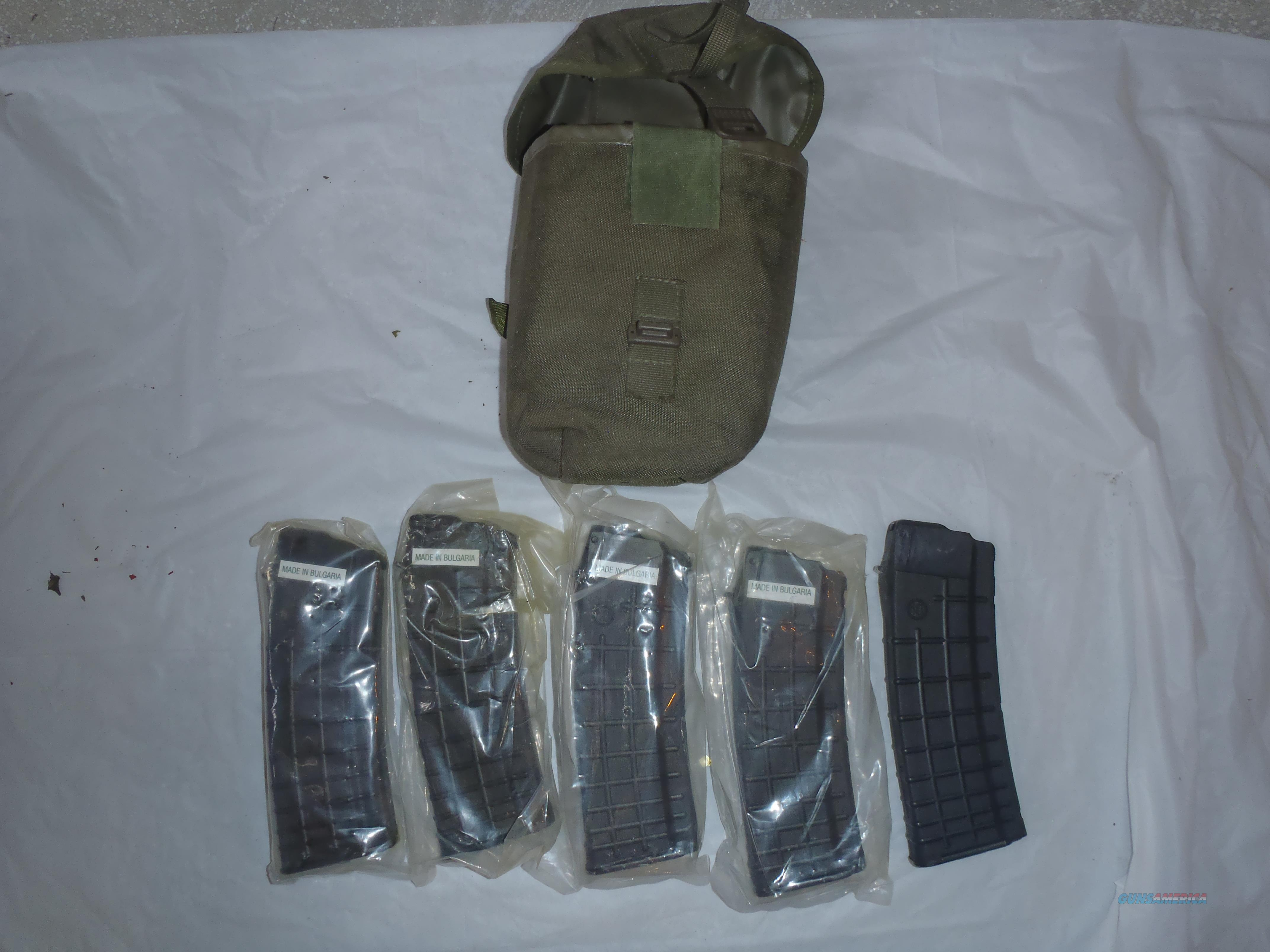Bulgarian AK 5.56 x 45 Magazines 30 RND with Pouch  Non-Guns > Magazines & Clips > Rifle Magazines > AK Family